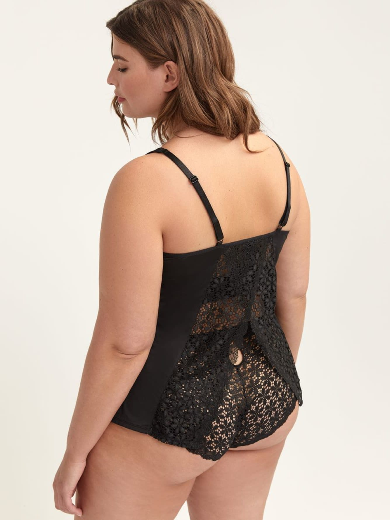 Camisole de nuit avec dentelle - Ashley Graham