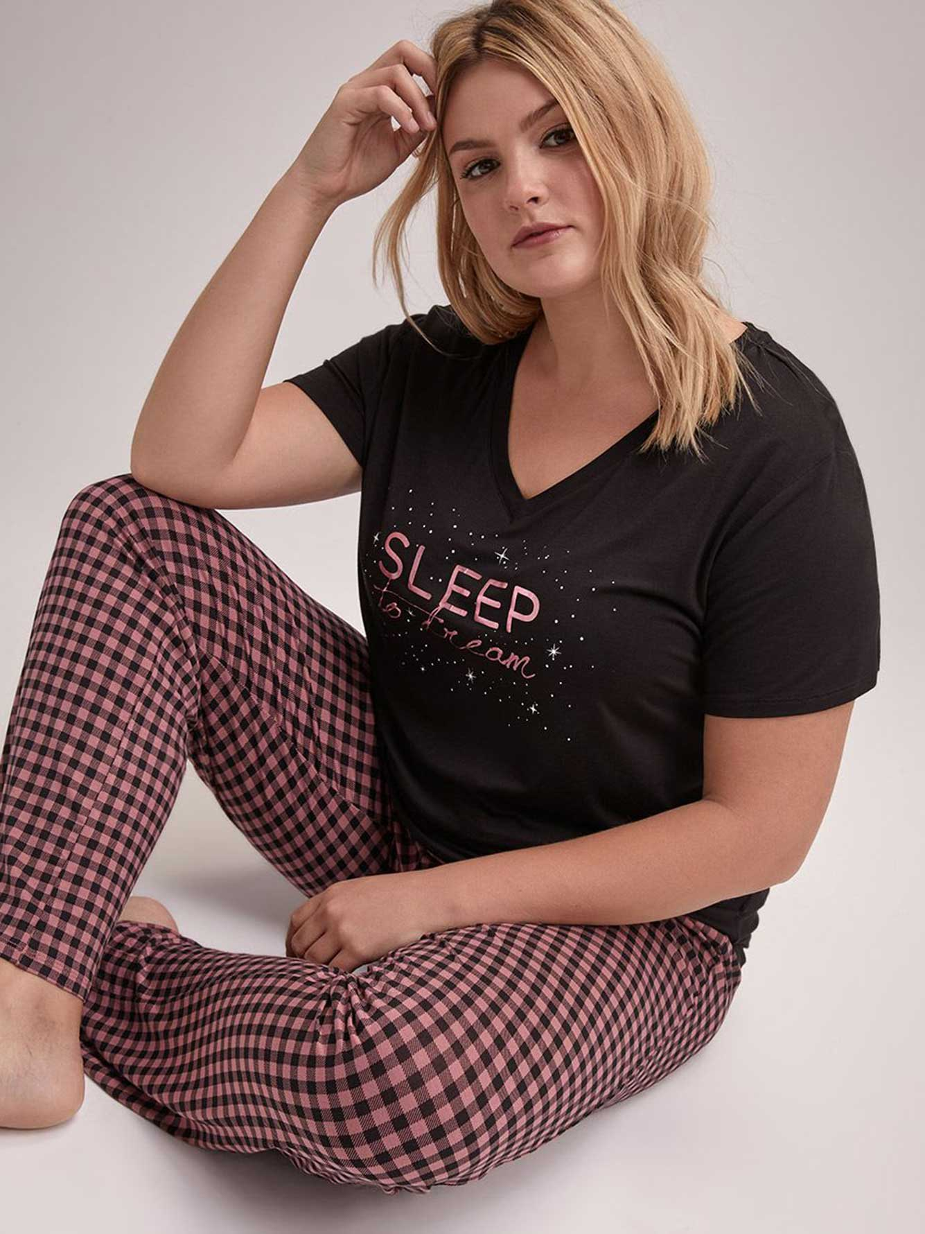 Straight Leg Pajama Pant - Déesse Collection