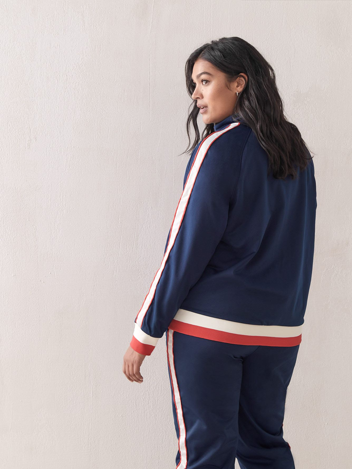 Navy Track Jacket - Champion
