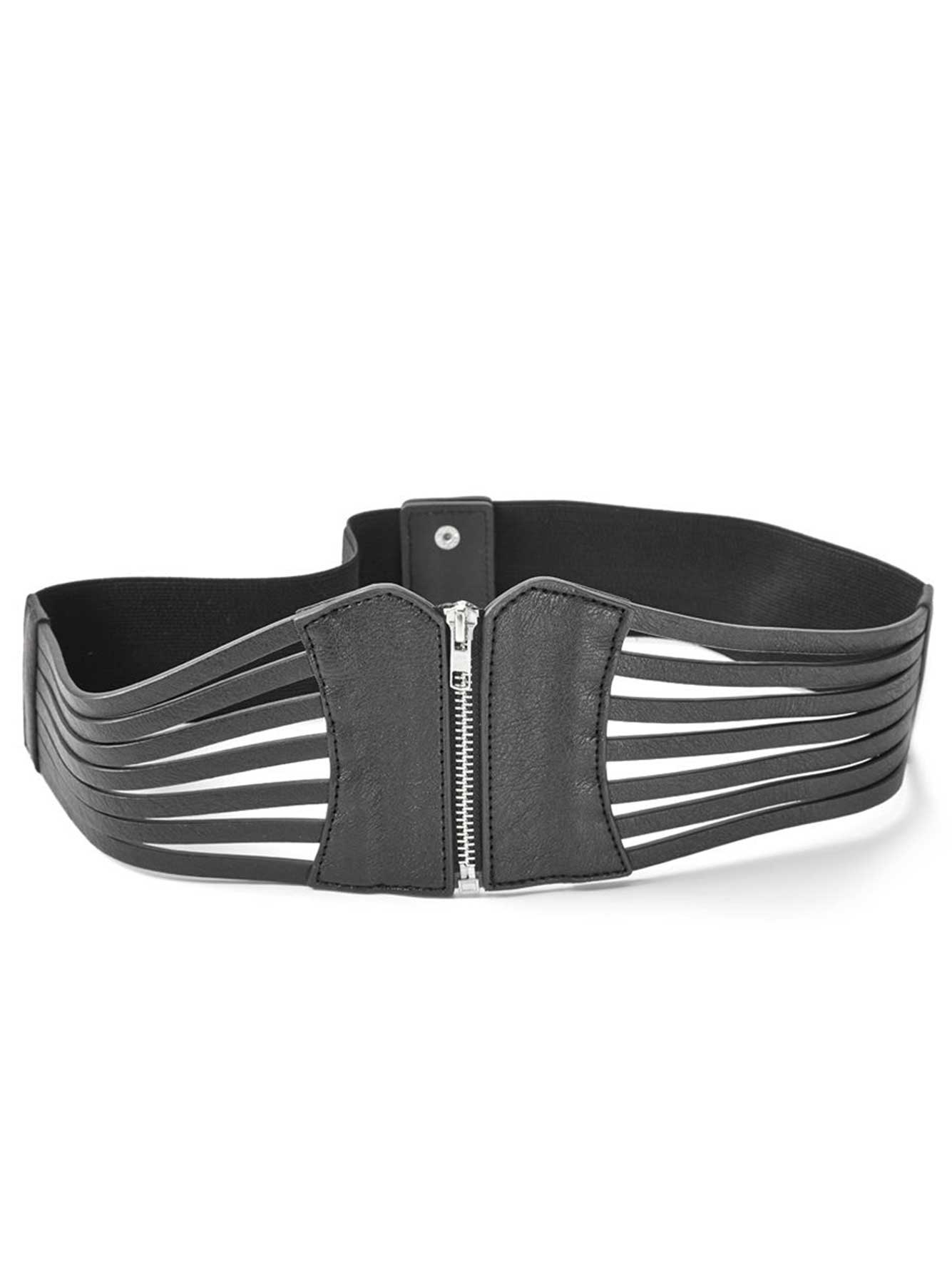 Open Corset Stretch Belt