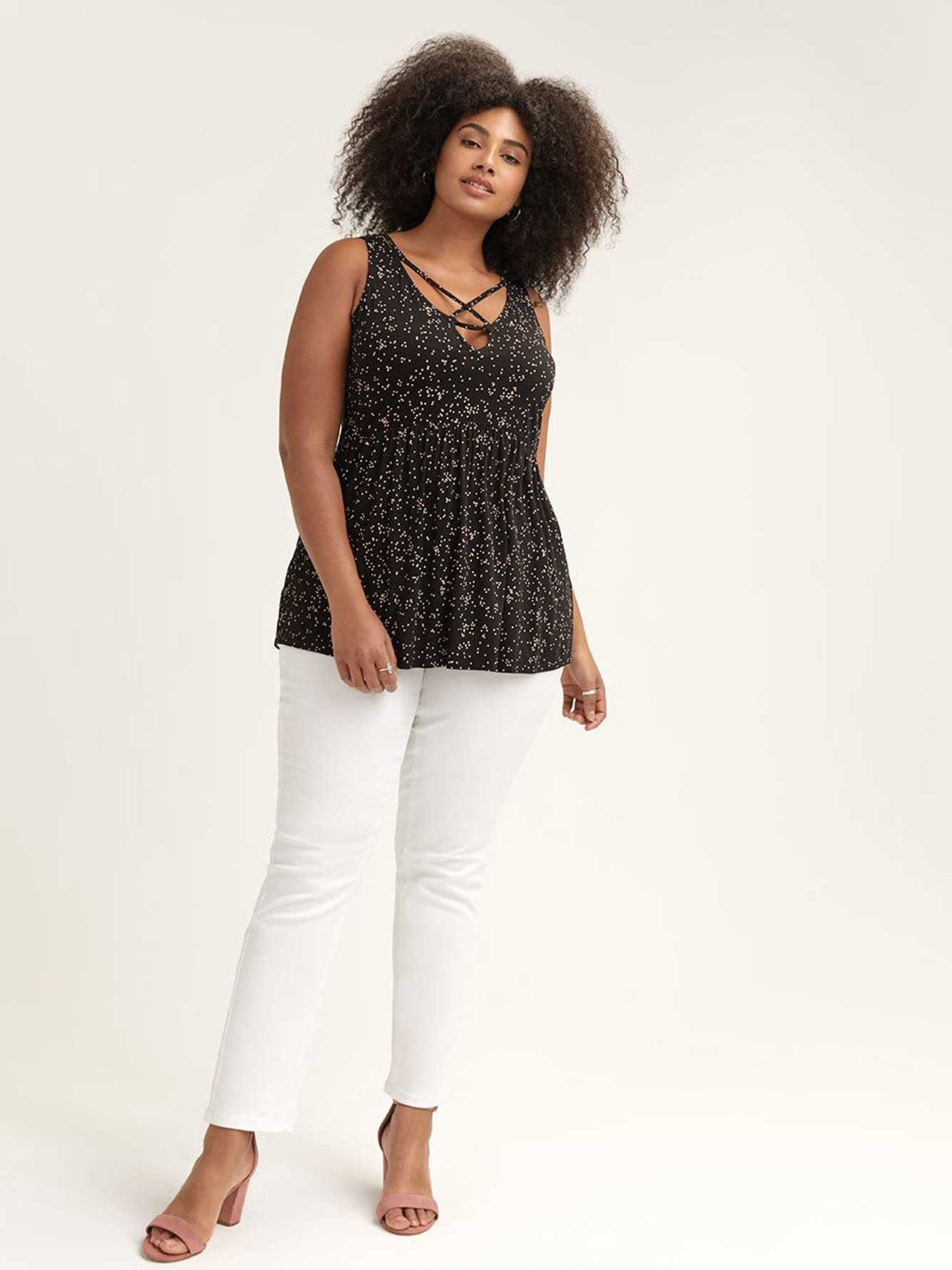 L&L Printed Sleeveless Top