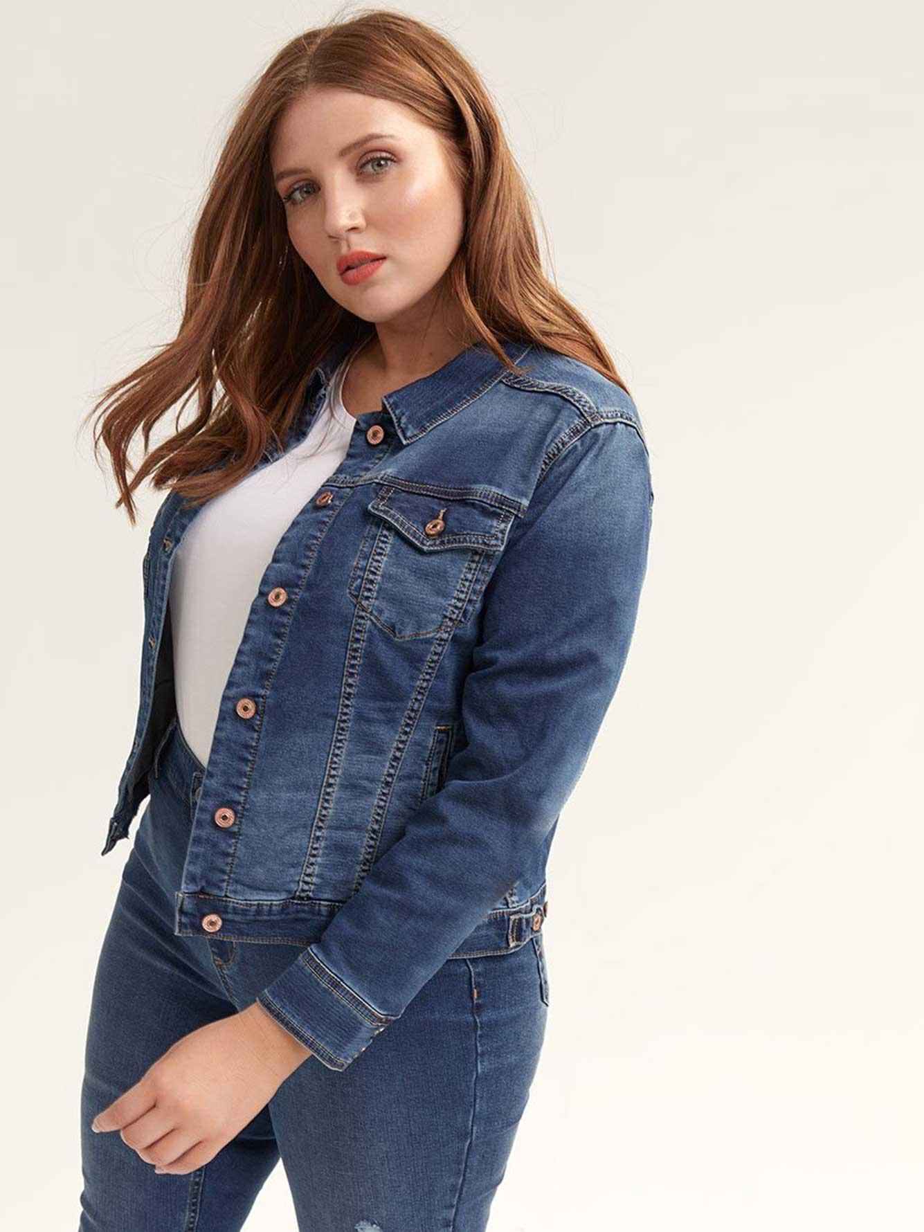 Joga Denim Jacket - Silver Jeans
