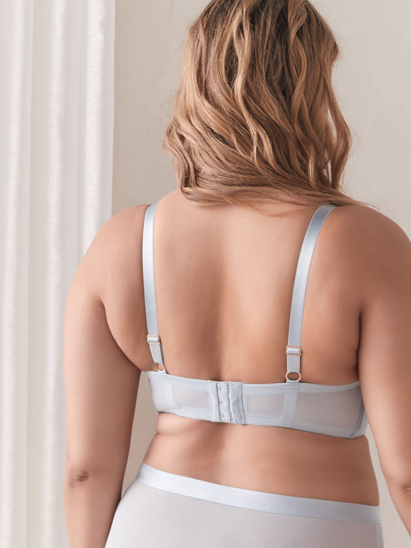 Demi Cup Diva Bra with Strap Detail, G & H Cups - Ashley Graham
