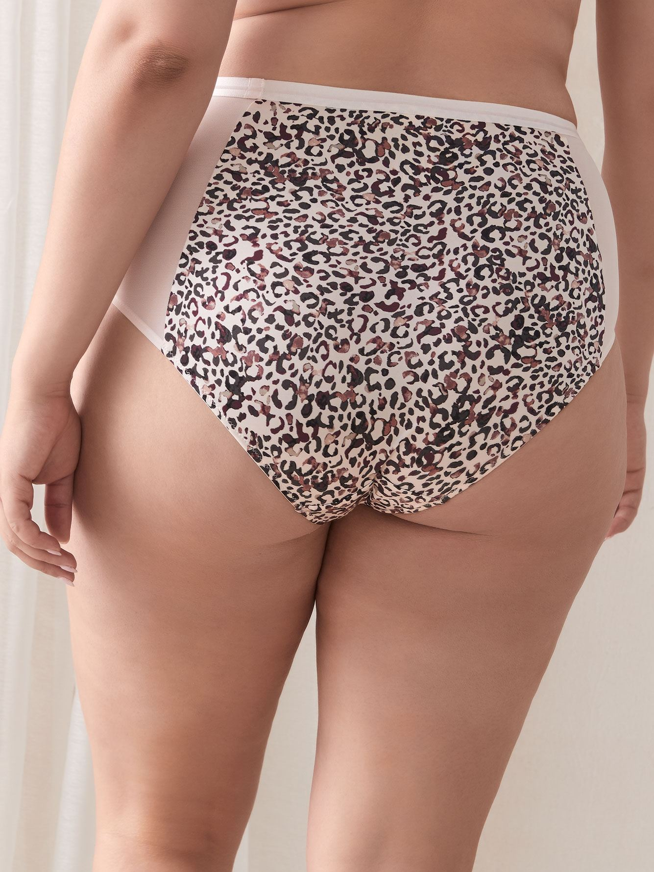 Animal Print Full Brief Panty - Déesse Collection