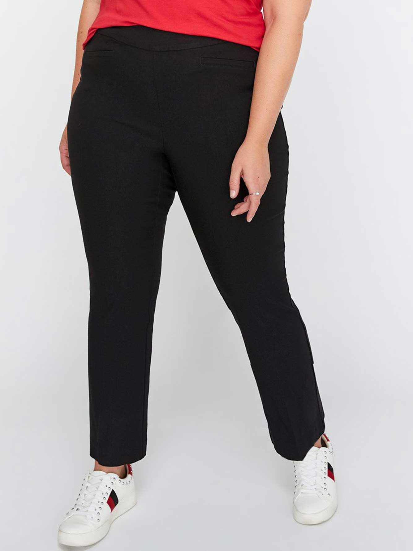 Petite Modern Stretch Kick Flare Pant - Michel Studio