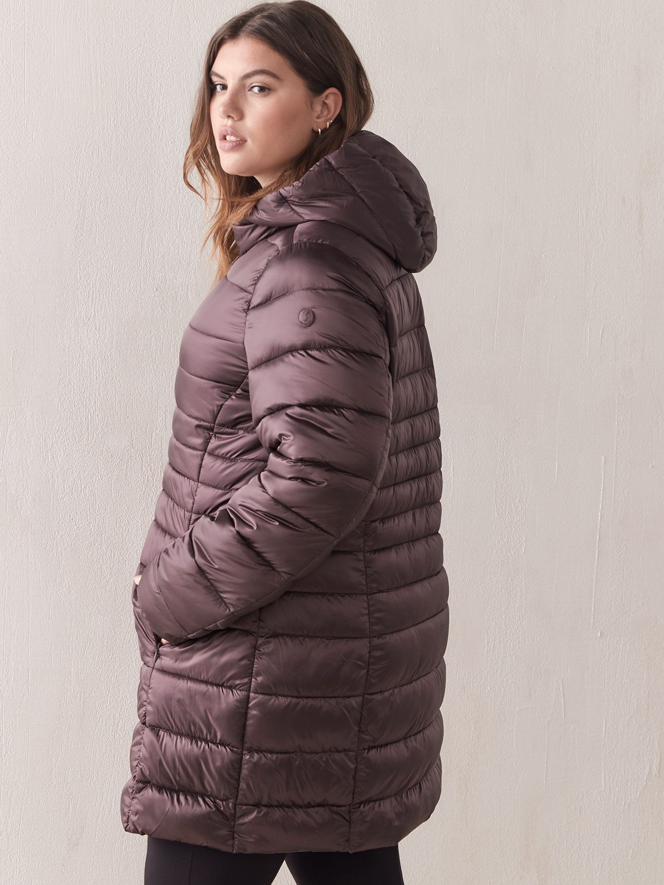 Quilted Packable Iris Long Puffer - Save the Duck