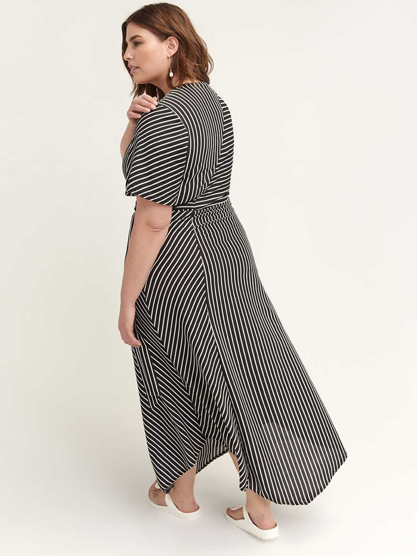 Striped Maxi Dress - Lost Ink