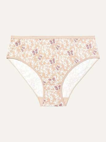 High Cut Cotton Panty - Déesse Collection