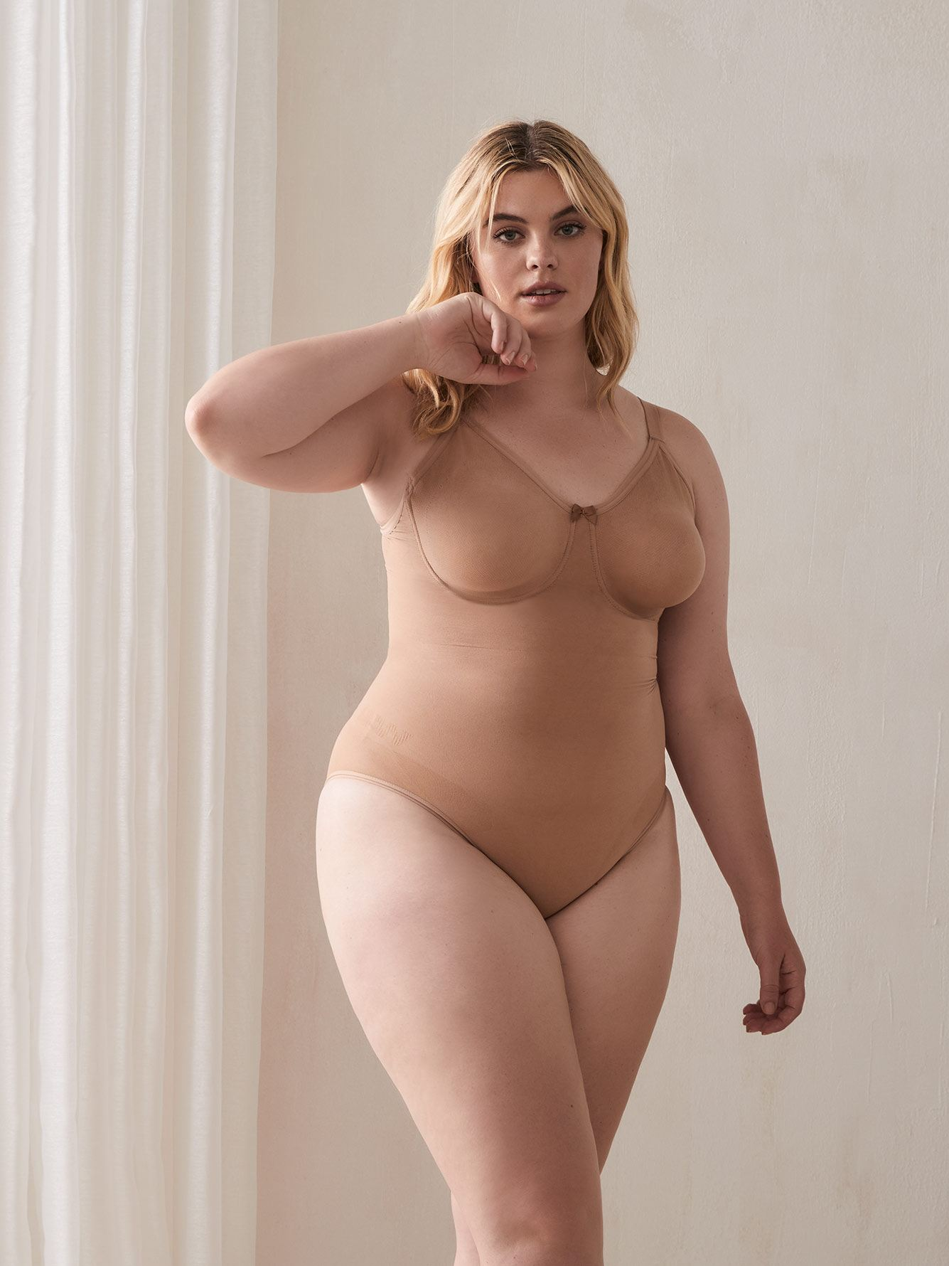 Seamless Shapewear Bodysuit - Body Wrap
