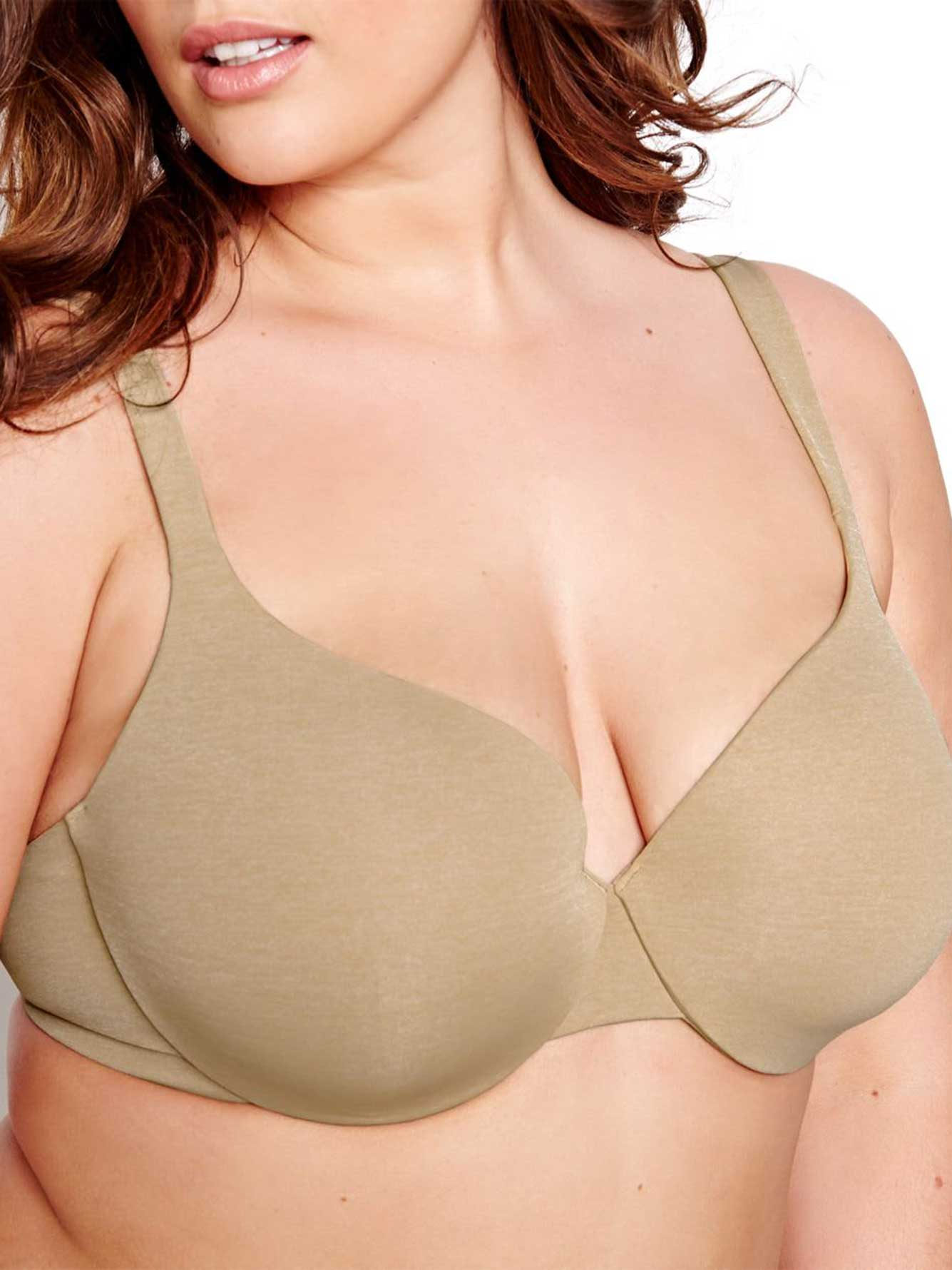 Basic Flawless T-ser Bra with White Base - Déesse Collection