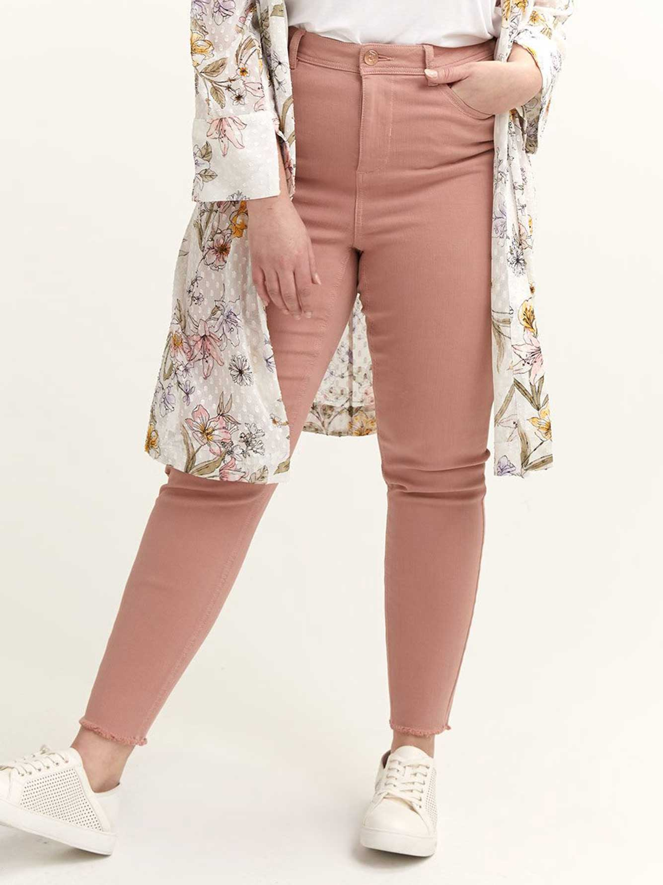 High-Waisted Rose Skinny Jean - L&L