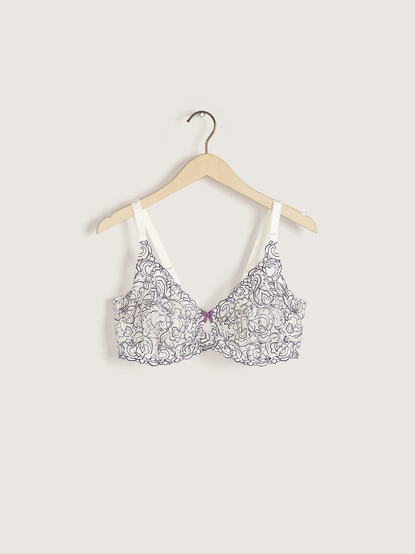 Femme Couture Embroidered Bra, G & H Cup