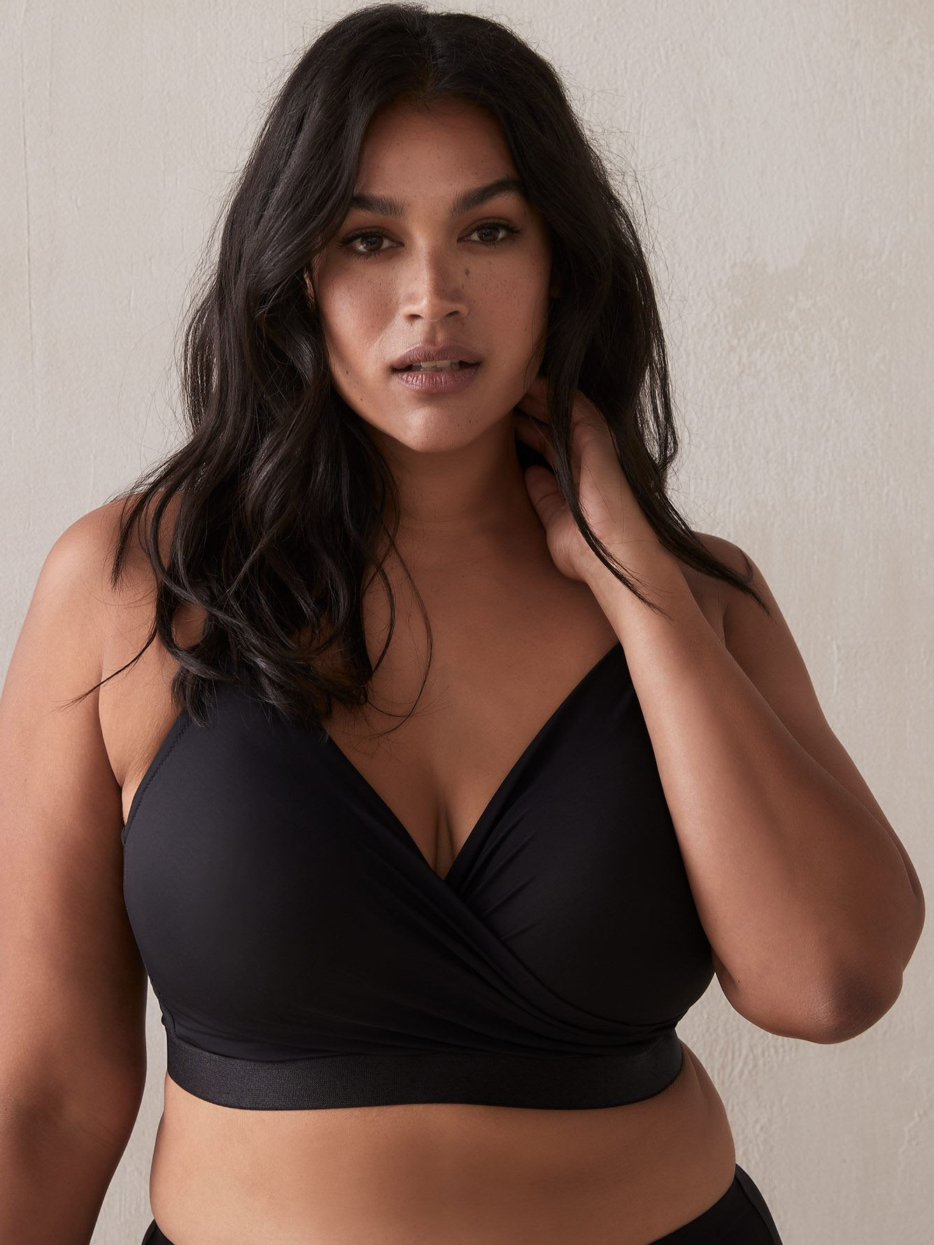 Lounge Crossover Bra, G and H Cups - Déesse Collection