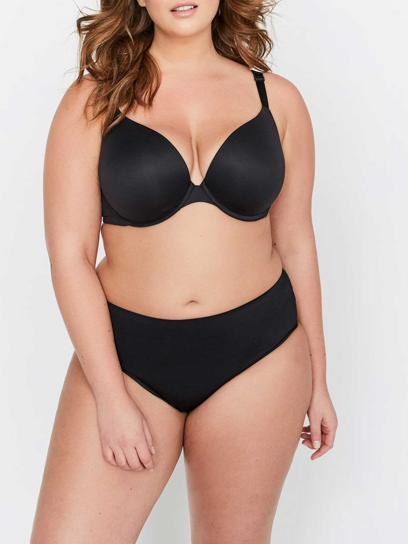Temptress Plunge Push Up Bra, Size G & H - Déesse Collection