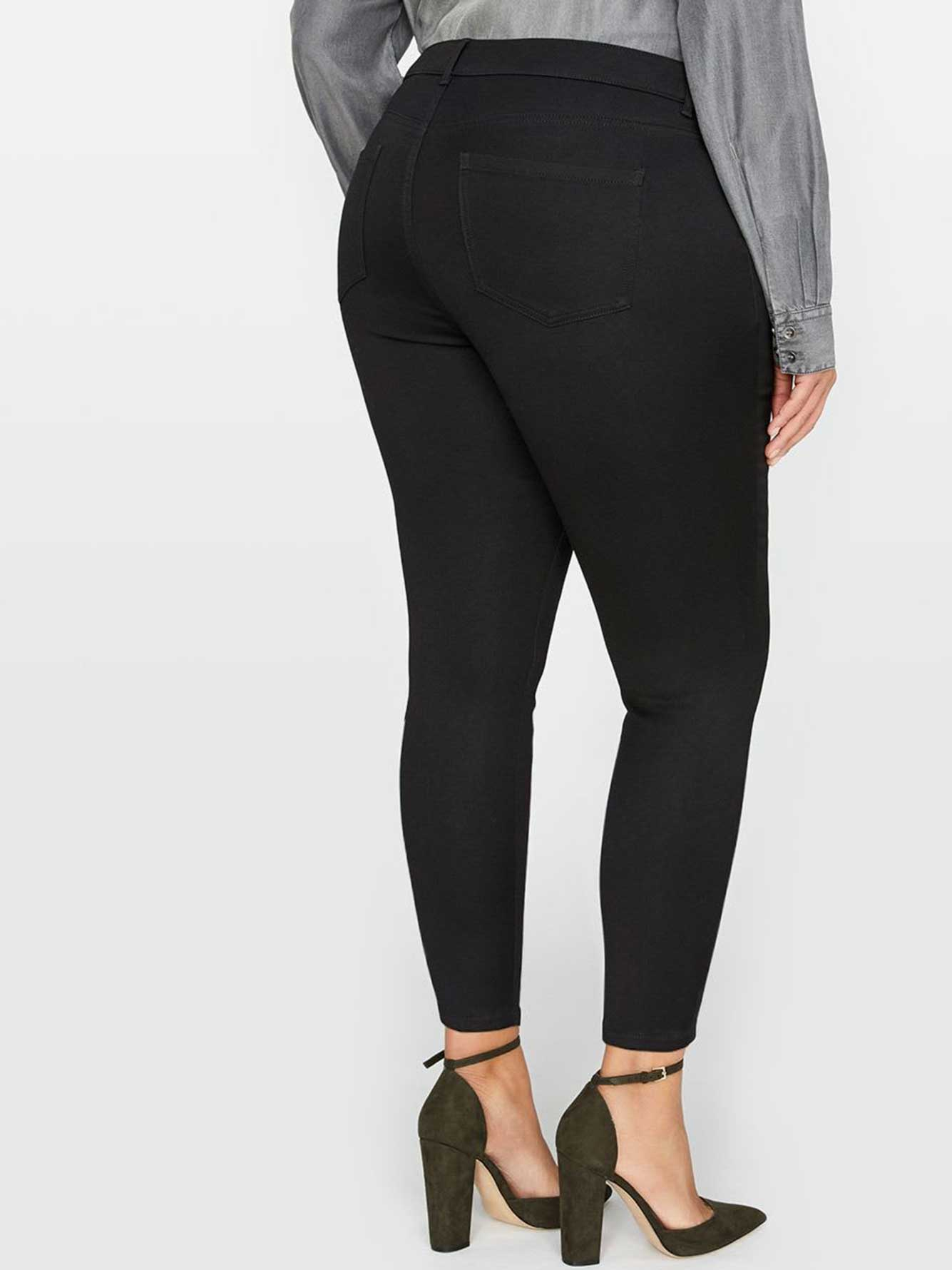 L&L Super Soft Black Jegging, Petite