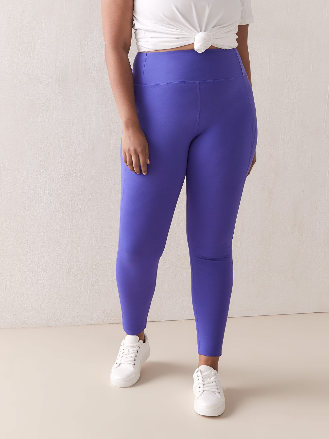 Legging de compression taille haute fashion - Girlfriend Collective
