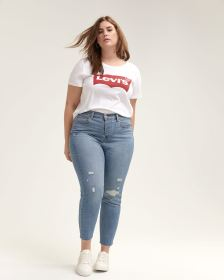 Levi's Wedgie Blue Spice Skinny Jeans