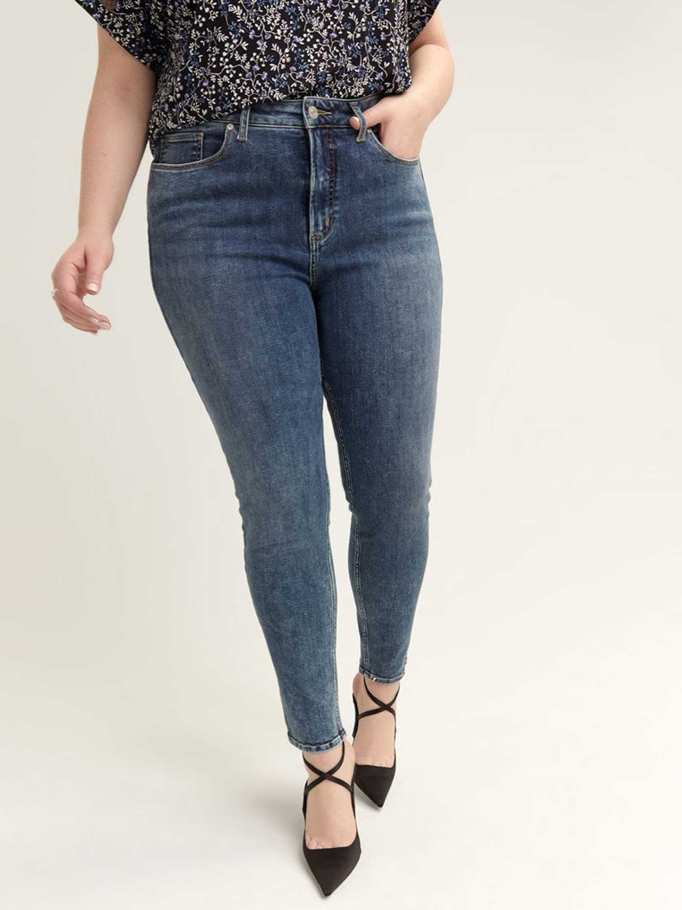 Jean skinny High Note - Silver Jeans