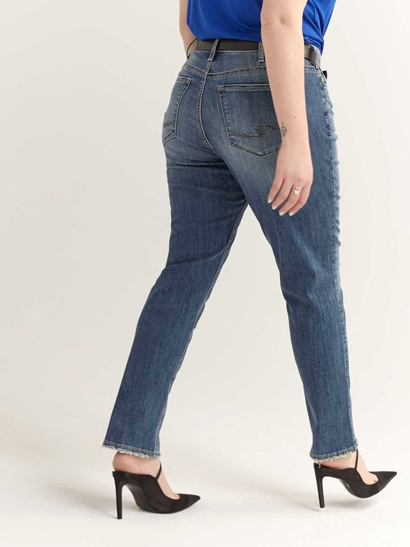 Avery Slim Denim - Silver Jeans