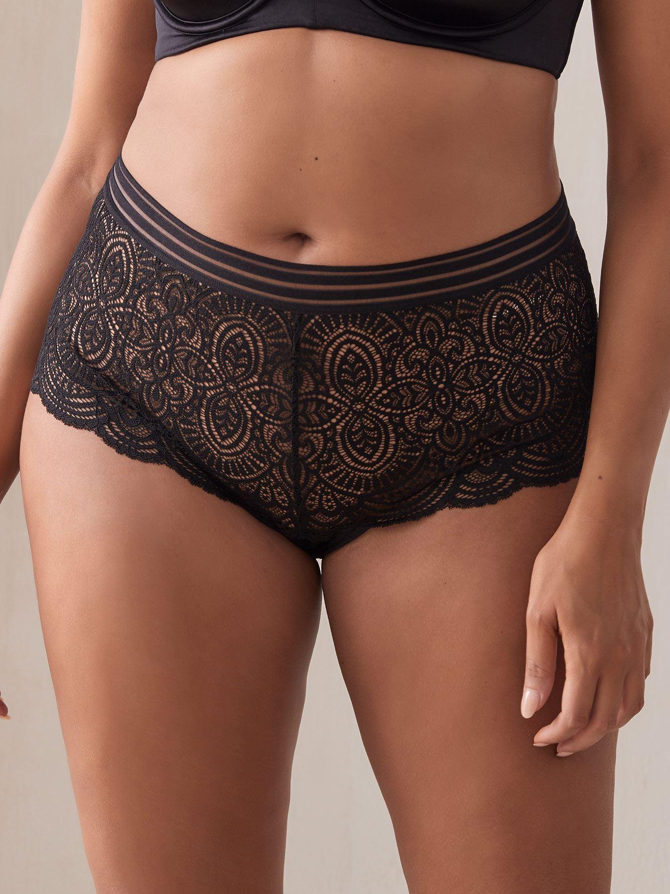 Boyshort Lace Panty - Ashley Graham