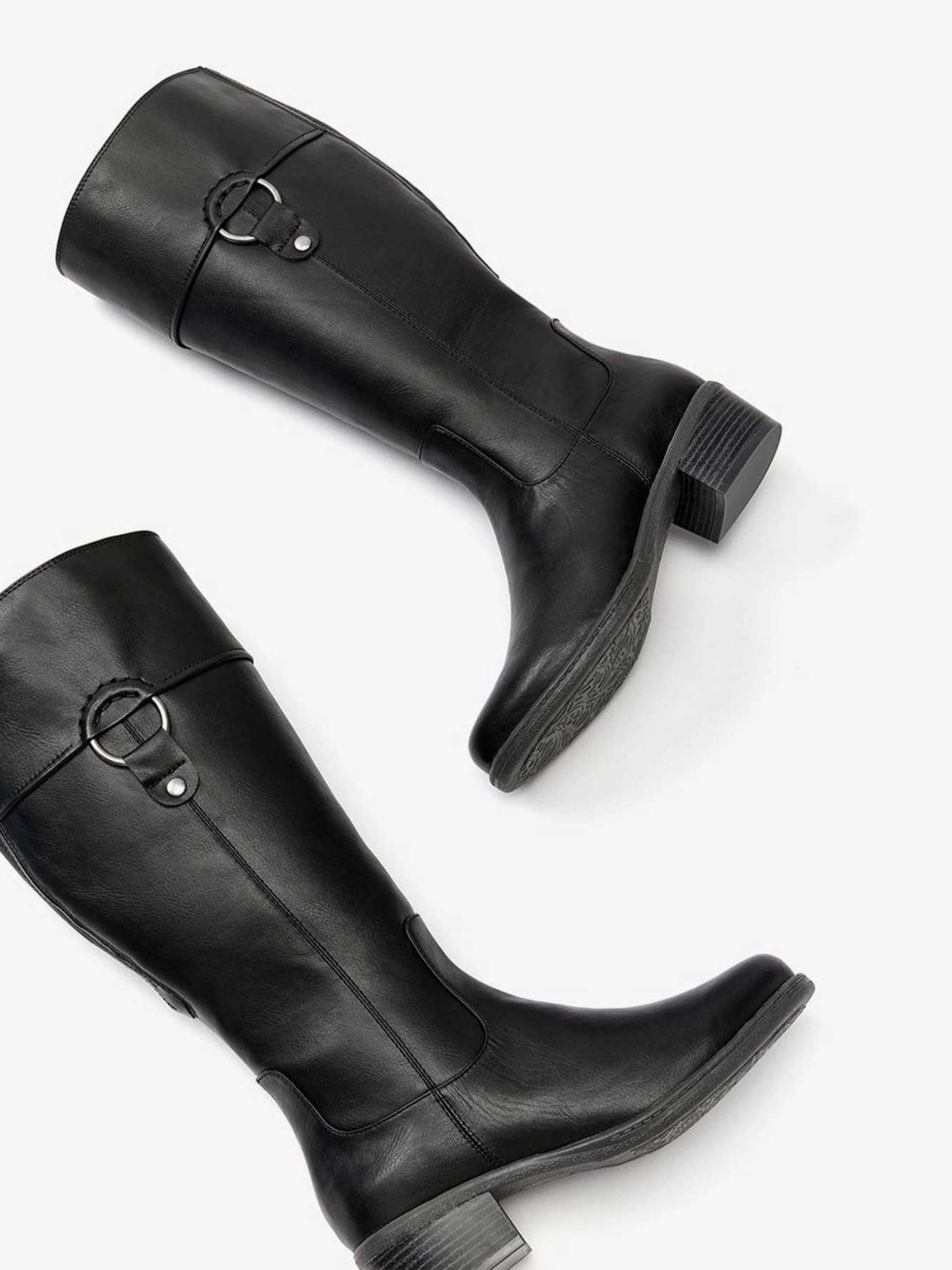 Tall Boot with Side Ring - Sandrine