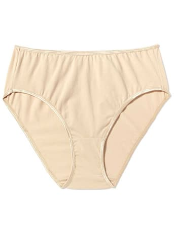 basic hi cut panty