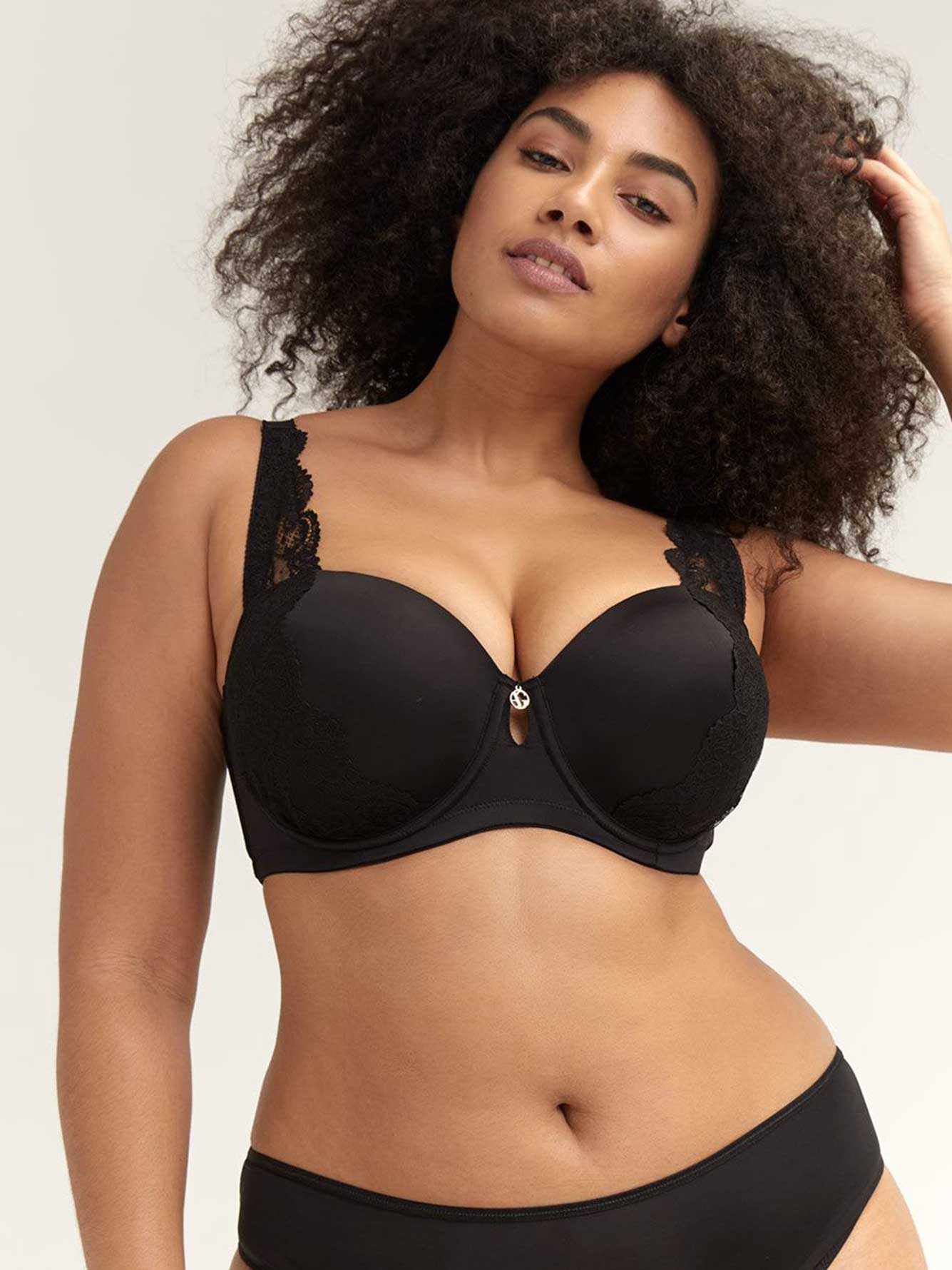 Lace Embellished Phenomenon Bra - Ashley Graham