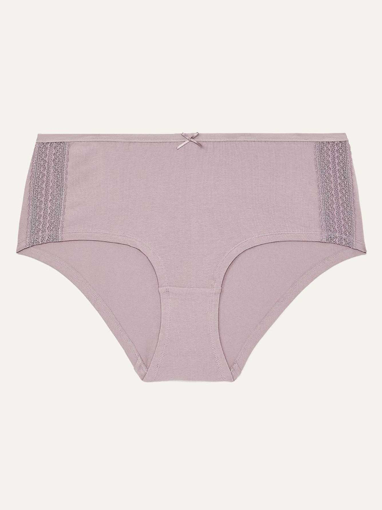 Cotton Boxer with Lace - Déesse Collection