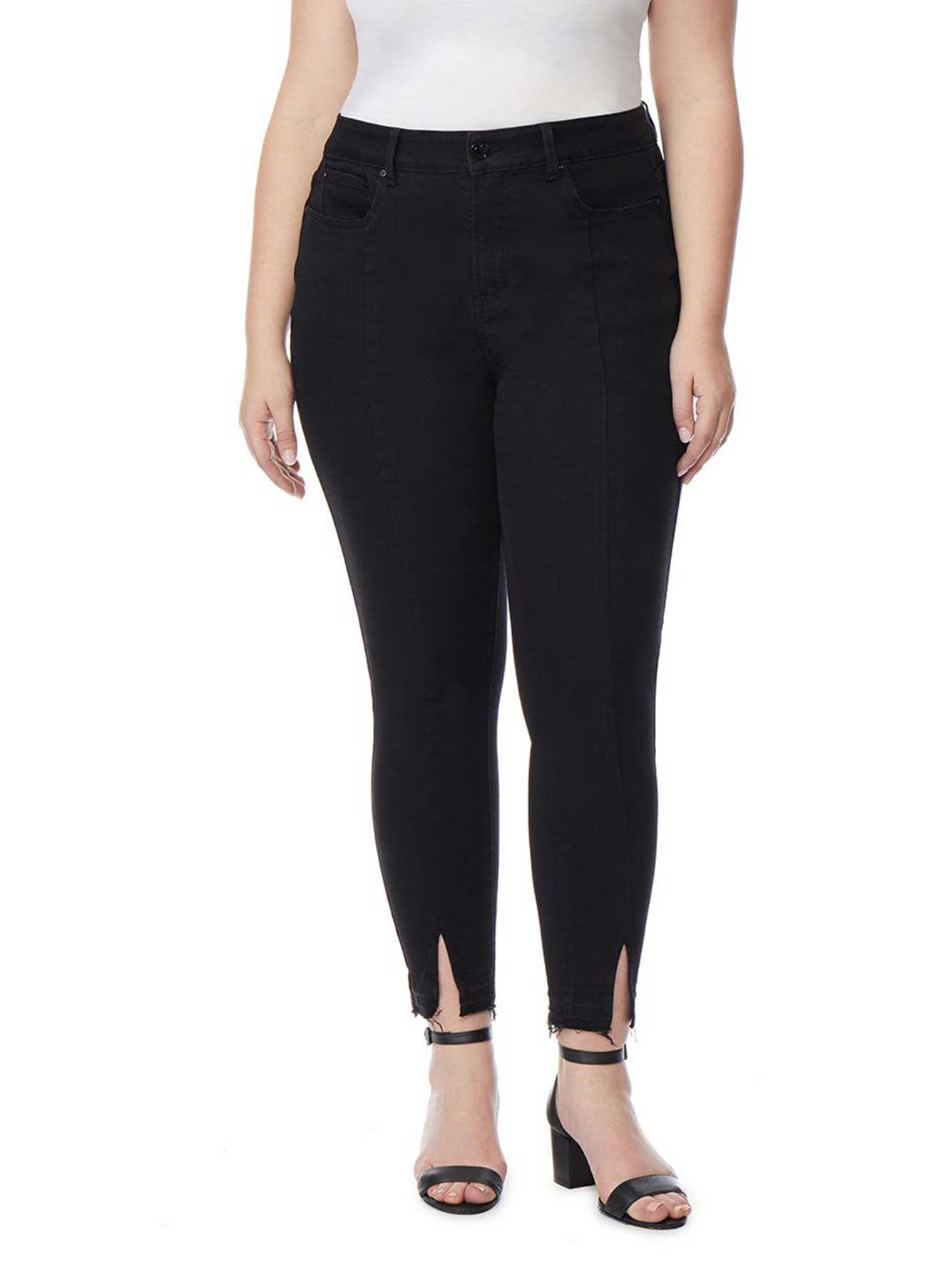 Imperial Ankle Jean with Front Slit - Rebel Wilson x Angels