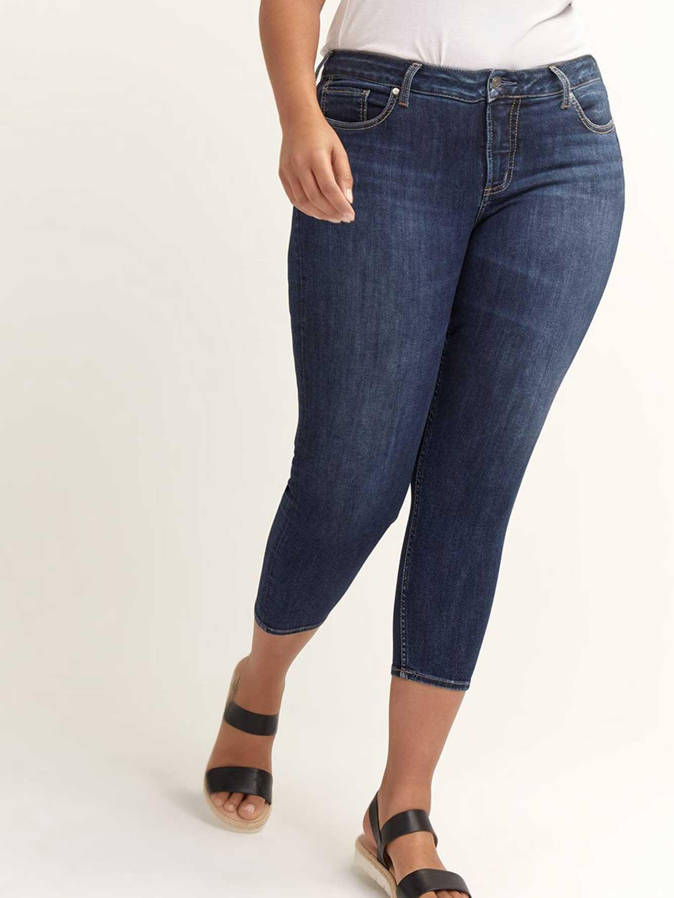 Jean skinny Suki écourté - Silver Jeans