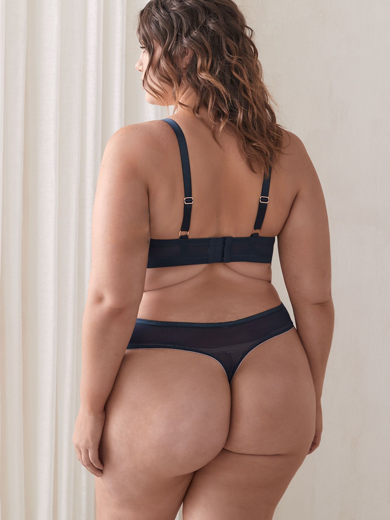 Demi Cup Diva Bra with Embroidery, G & H Cups - Ashley Graham