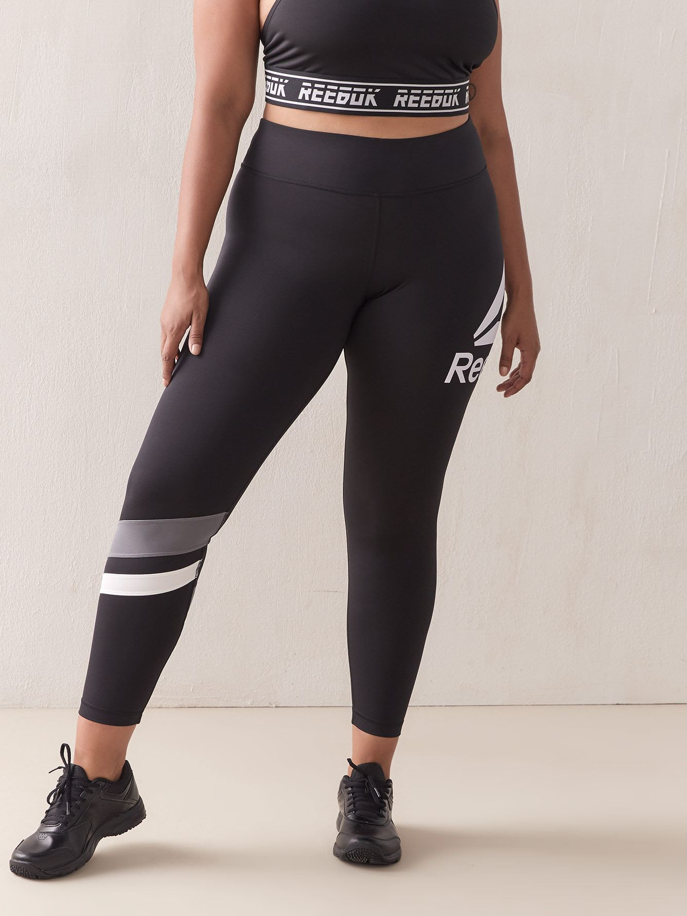 Big Delta Black Legging - Reebok