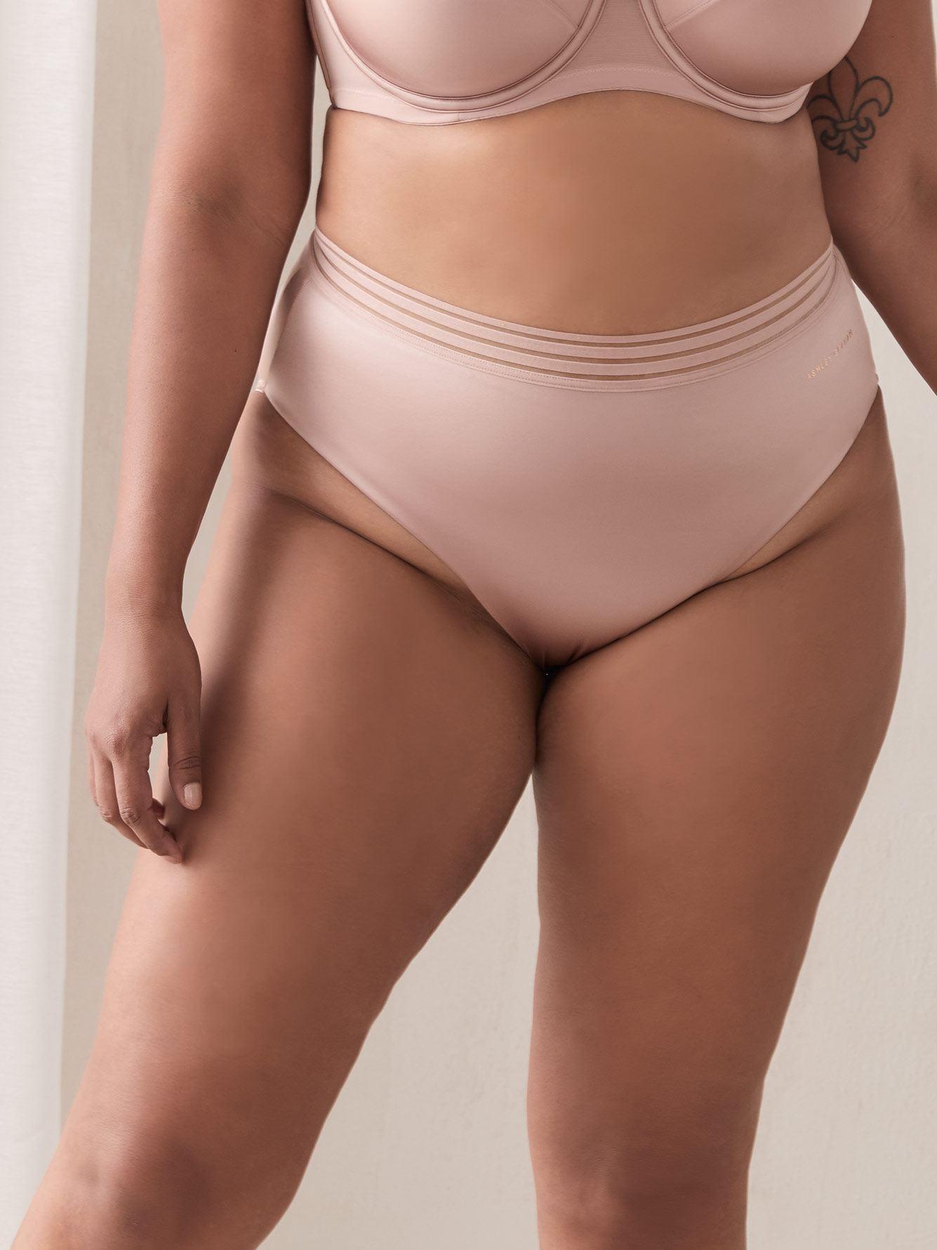 Invisible High Cut Microfiber Panty - Ashley Graham