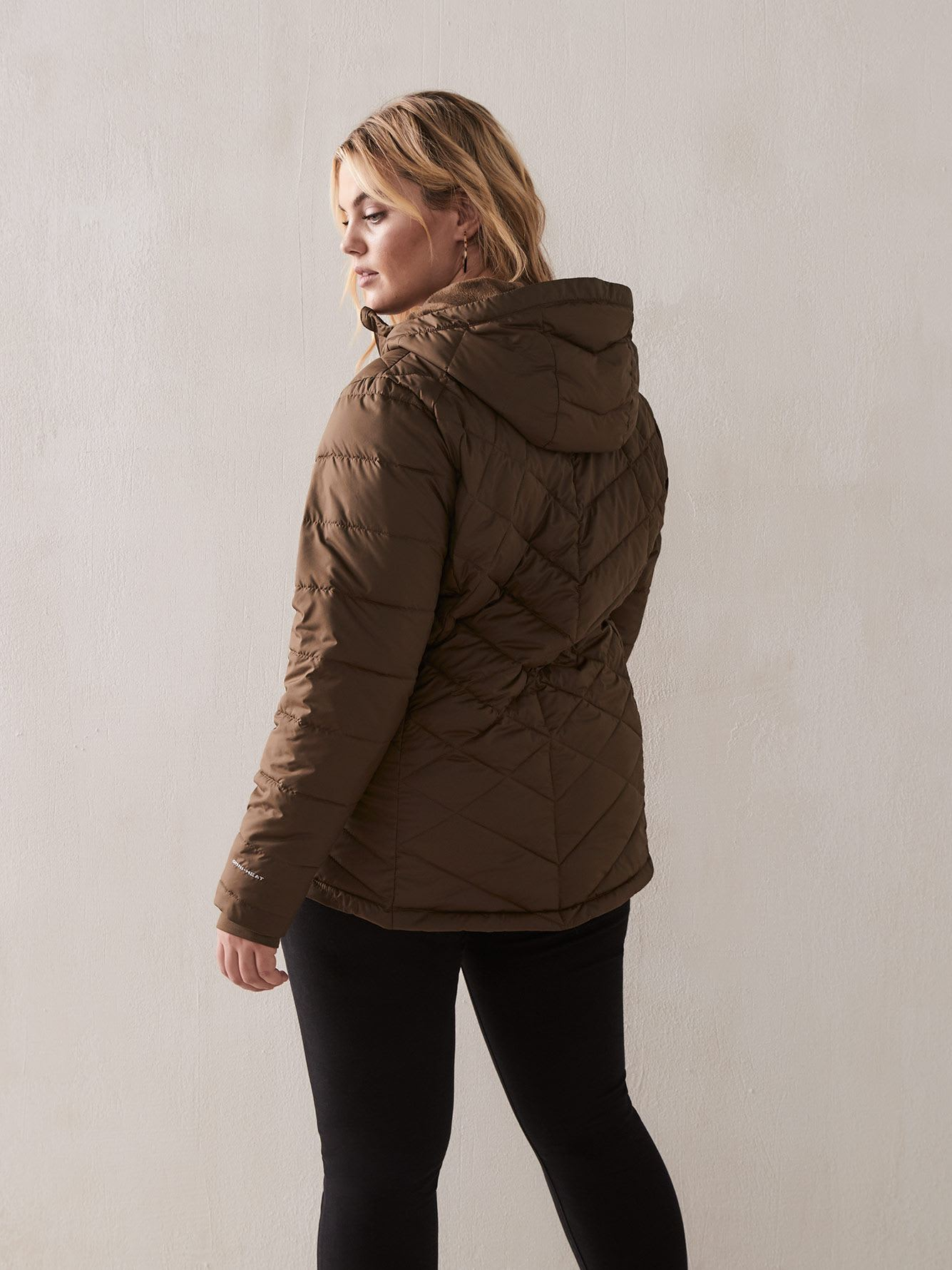 Heavenly Hooded Short Jacket - Columbia