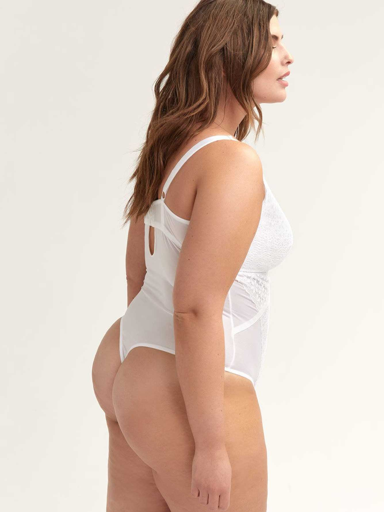 Lace Bodysuit - Ashley Graham