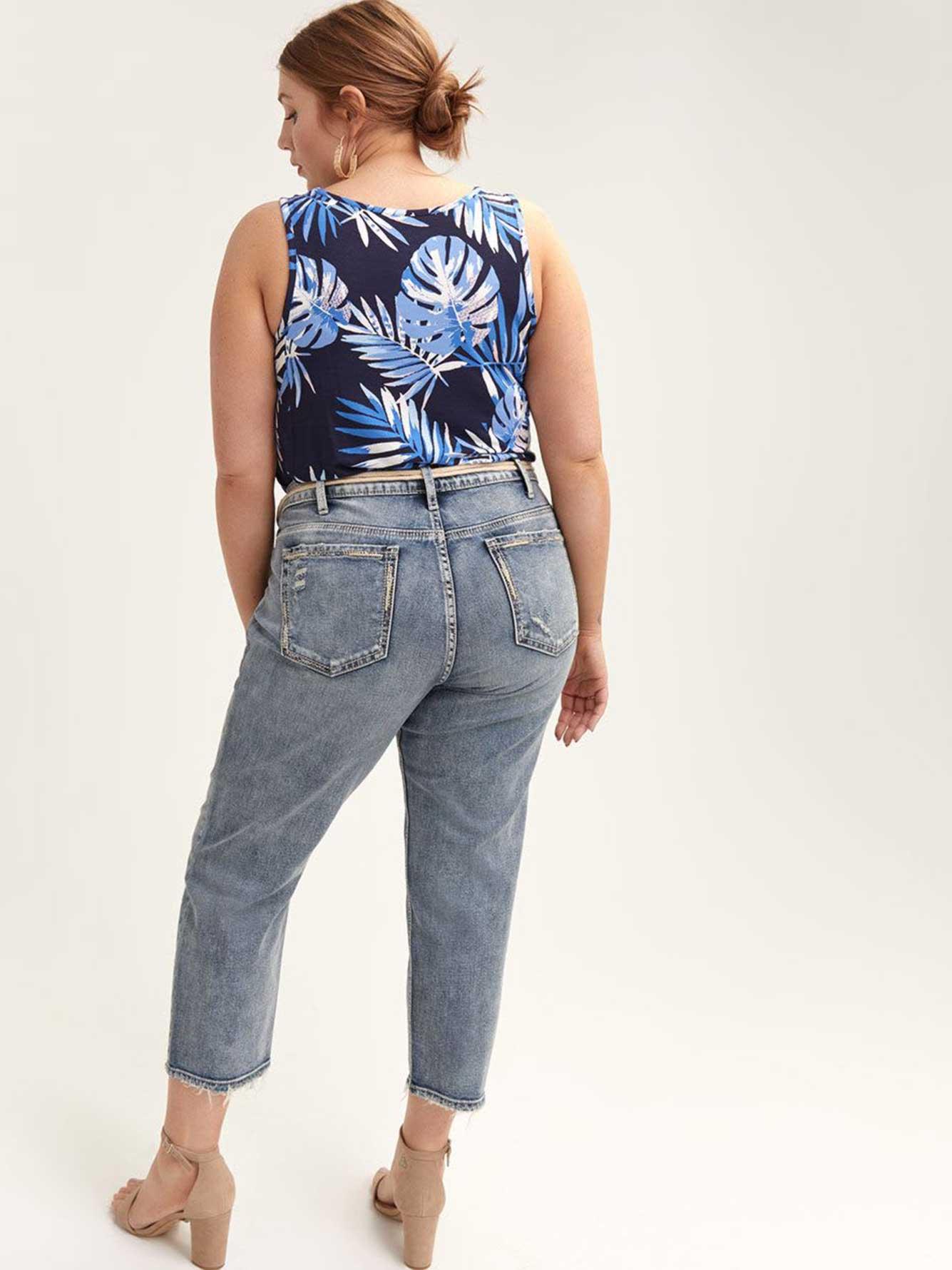 Jean slim écourté Elyse - Silver Jeans
