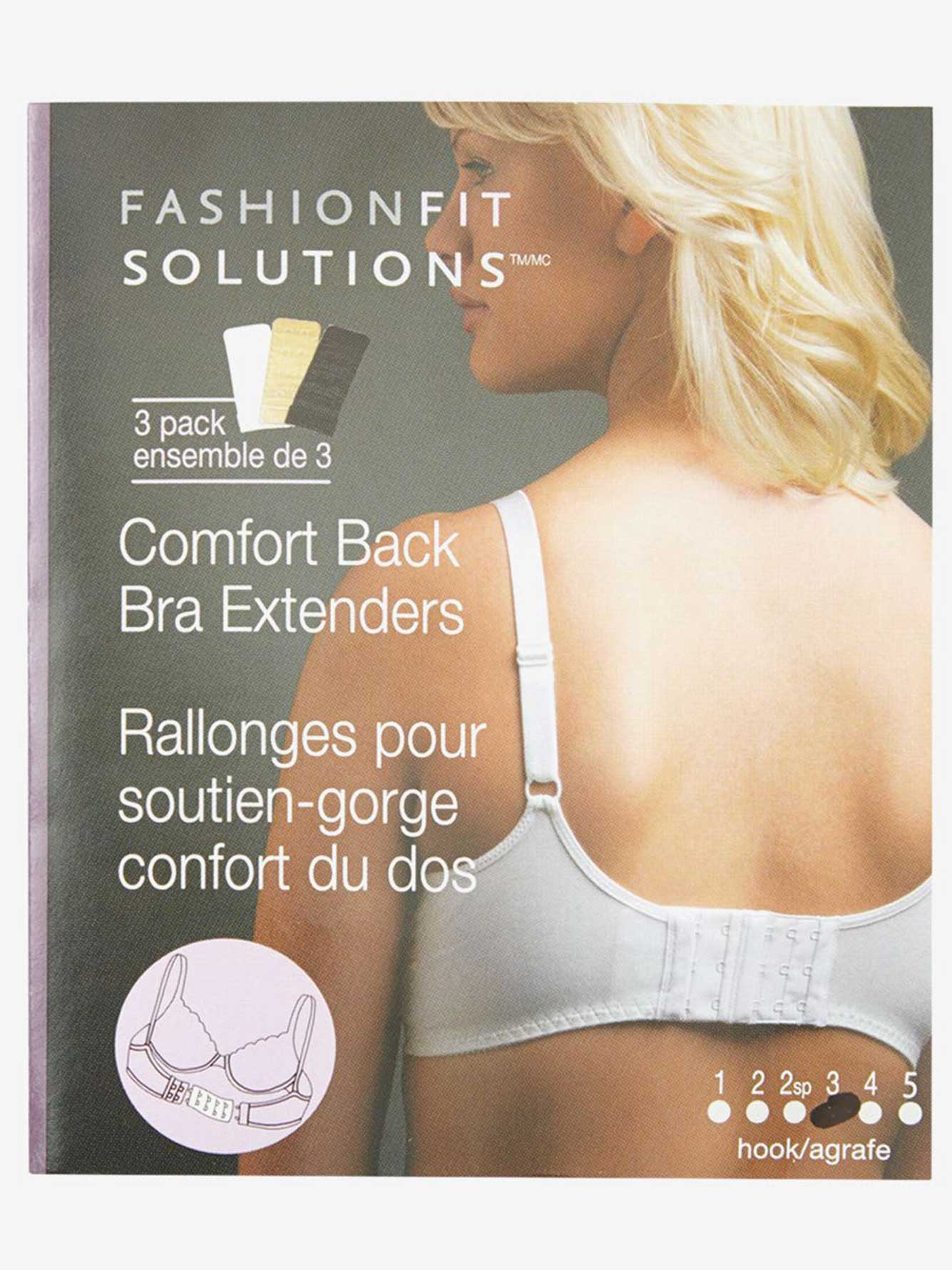 3 Hook Bra Extender 3 Pack