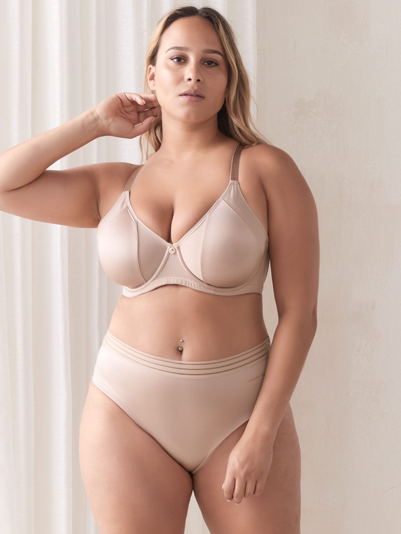 Ashley Graham - Soutien-gorge Attraction Fatale à bonnets souples