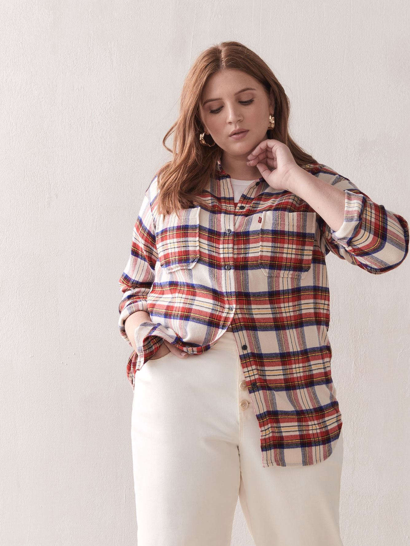 Harley Plaid Utility Shirt - Levi's