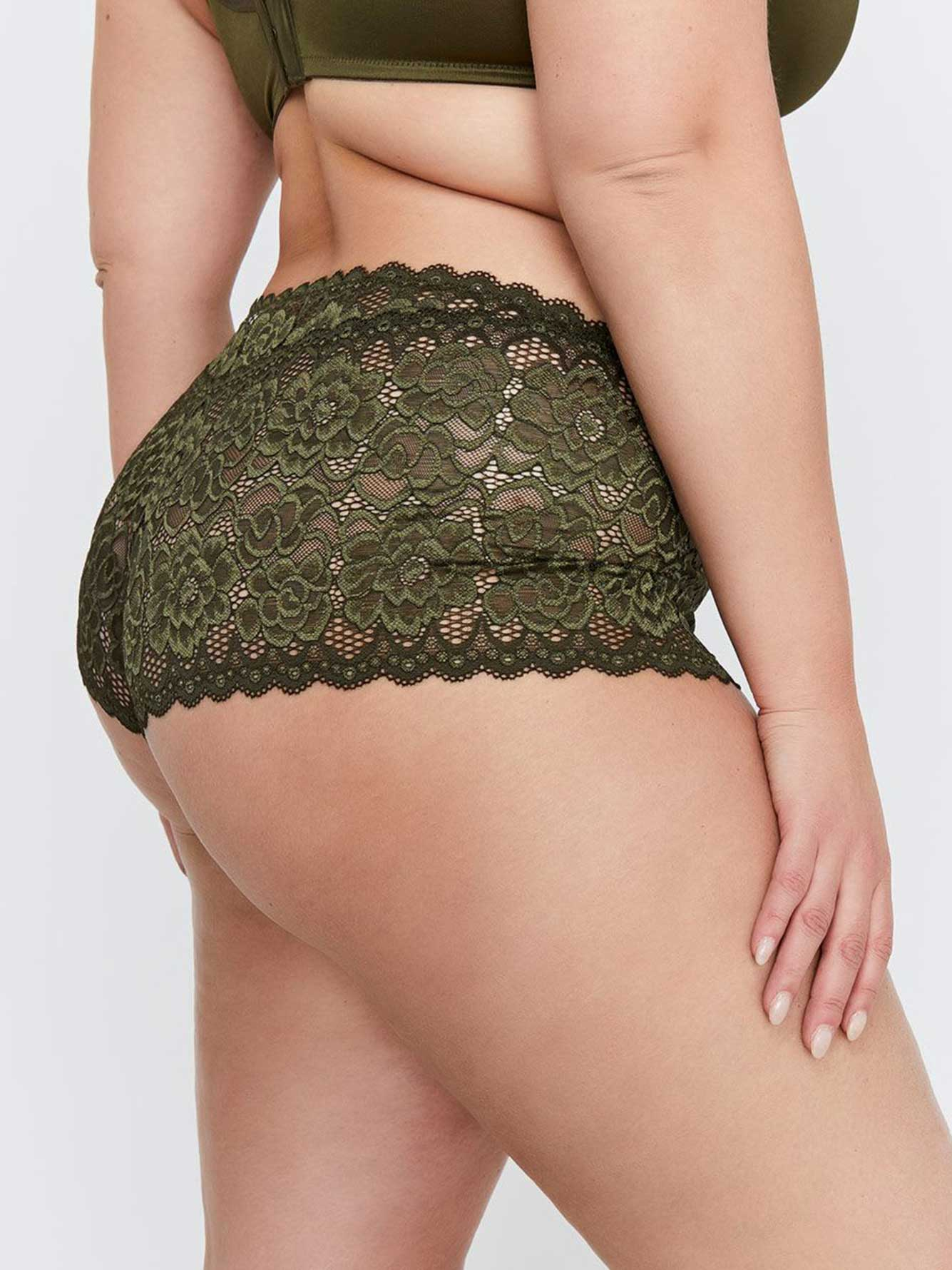 Brazilian Soft Lace Panty - Déesse Collection
