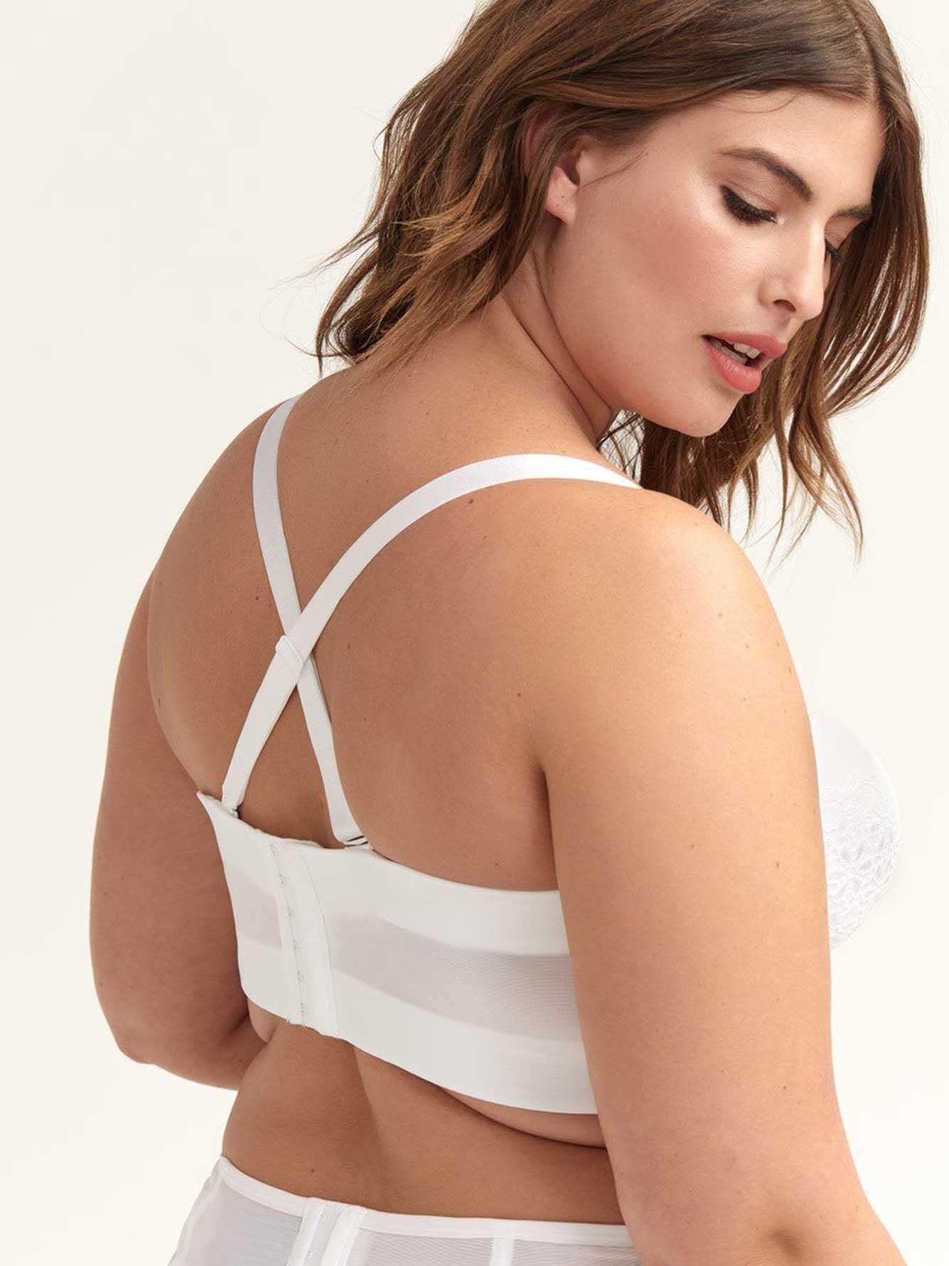 Ashley Graham Phenomenon Long Line Bra