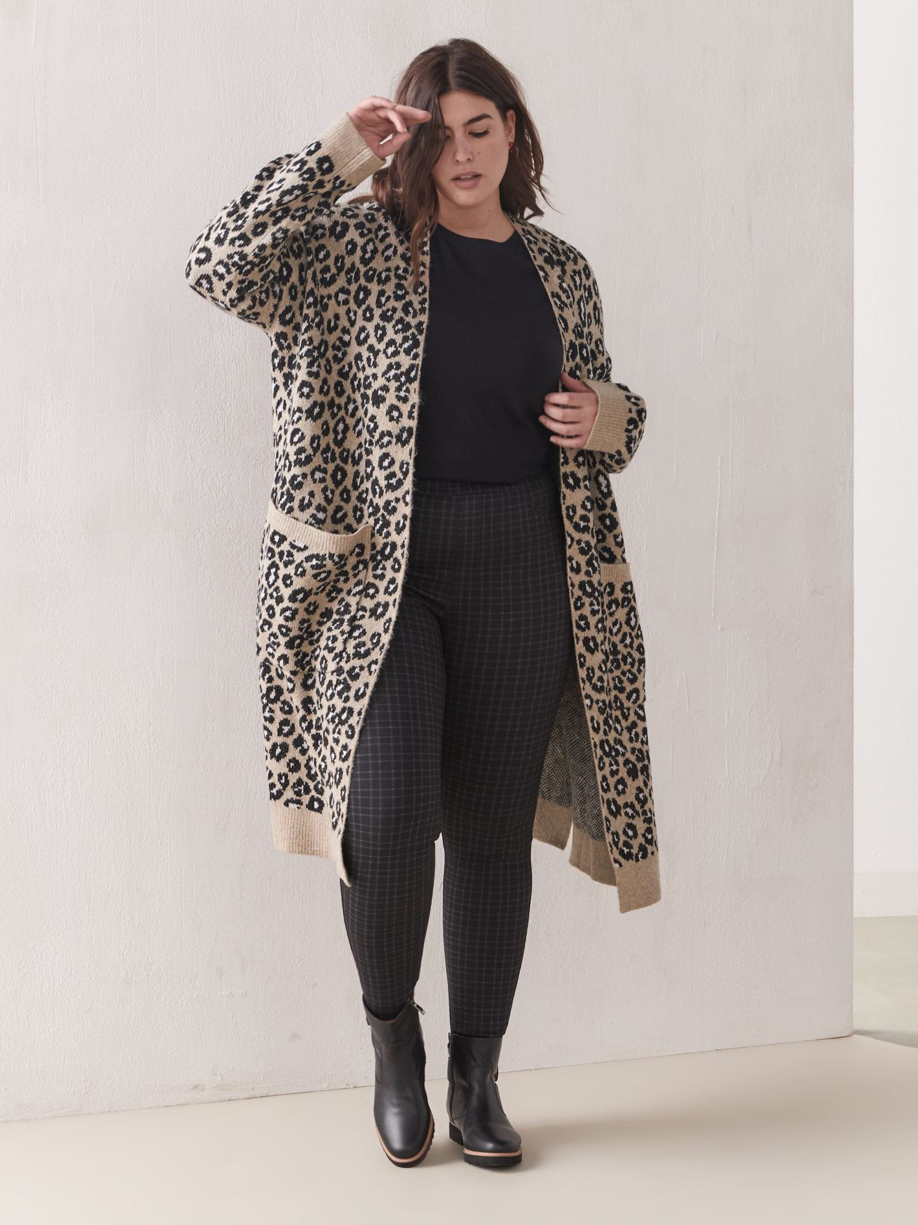 Cat's Meow Leopard-Print Cardigan - Sanctuary
