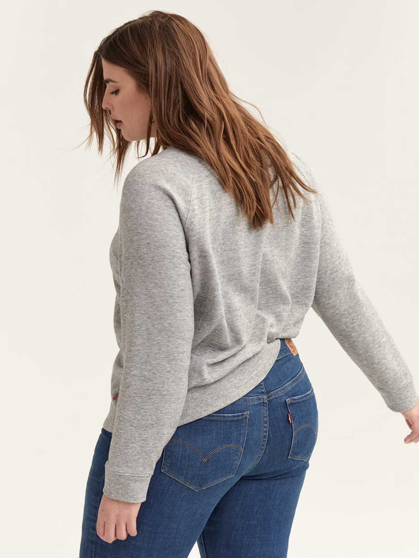 Levi's Graphic Grey Crew-Neck Sweatshirt