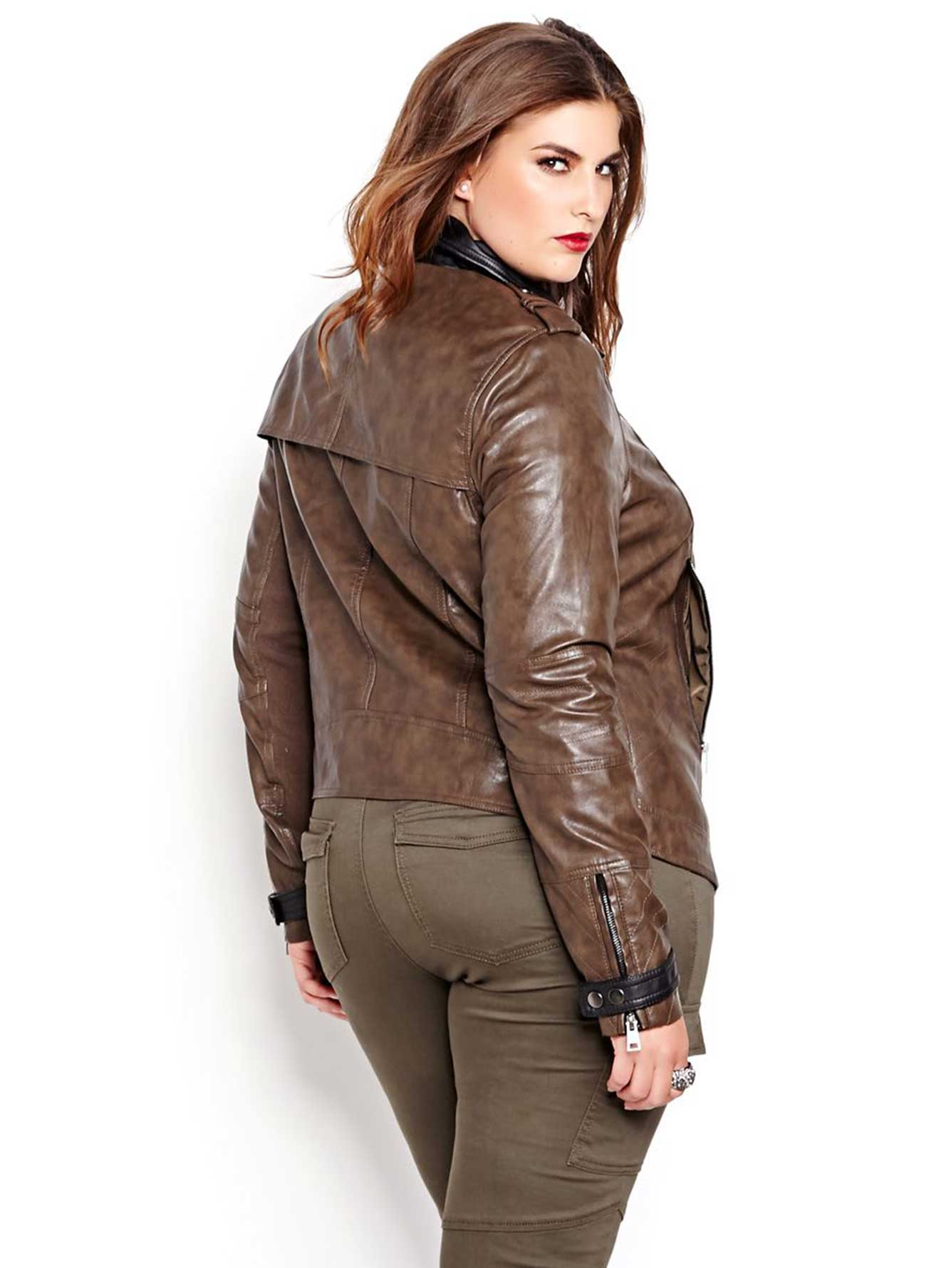 Nadia Aboulhosn Moto Jacket for L&L