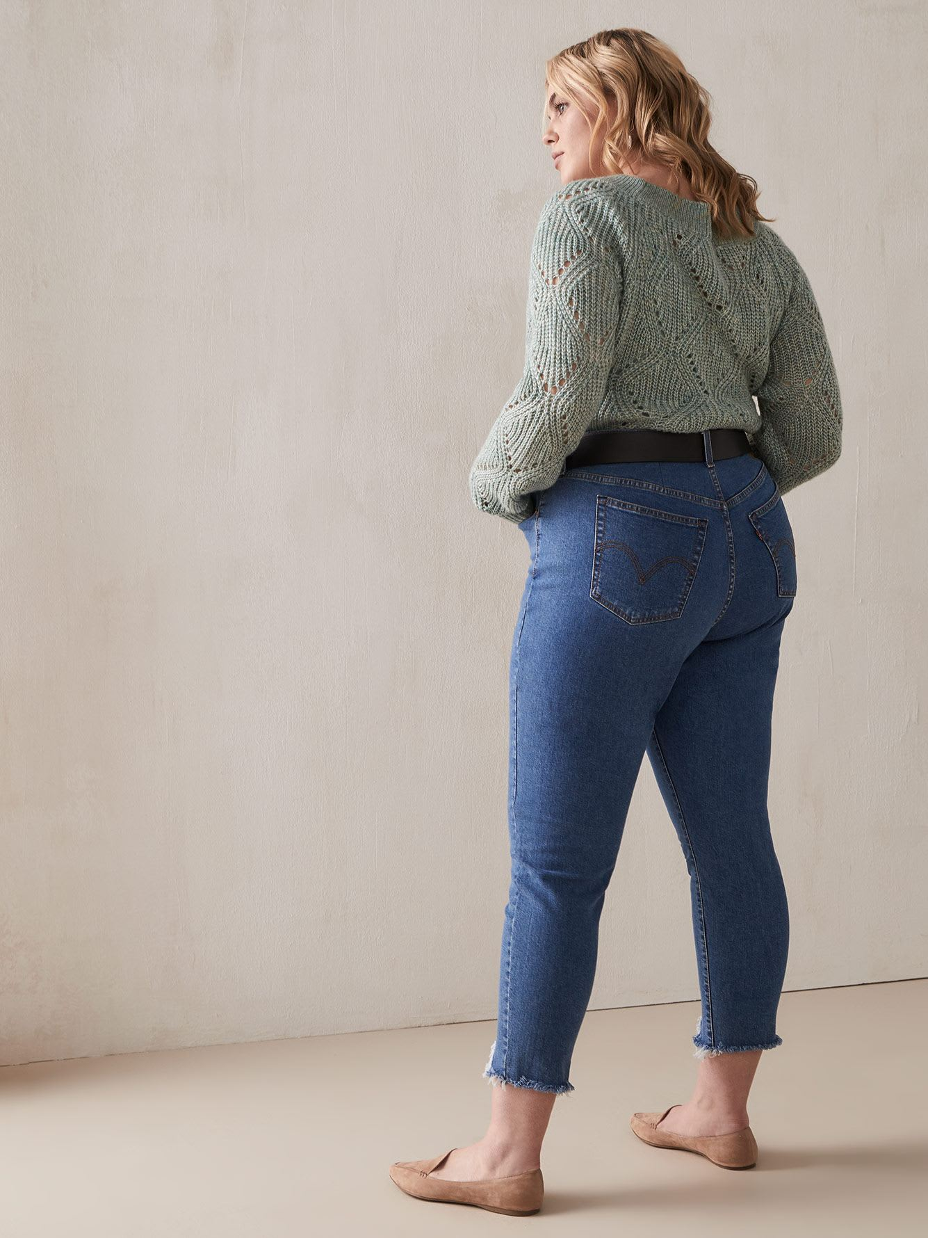 High-Waisted Wedgie Skinny Jean - Levi's Premium
