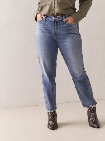 Frayed Tapered Frisco Jean - Silver Jeans