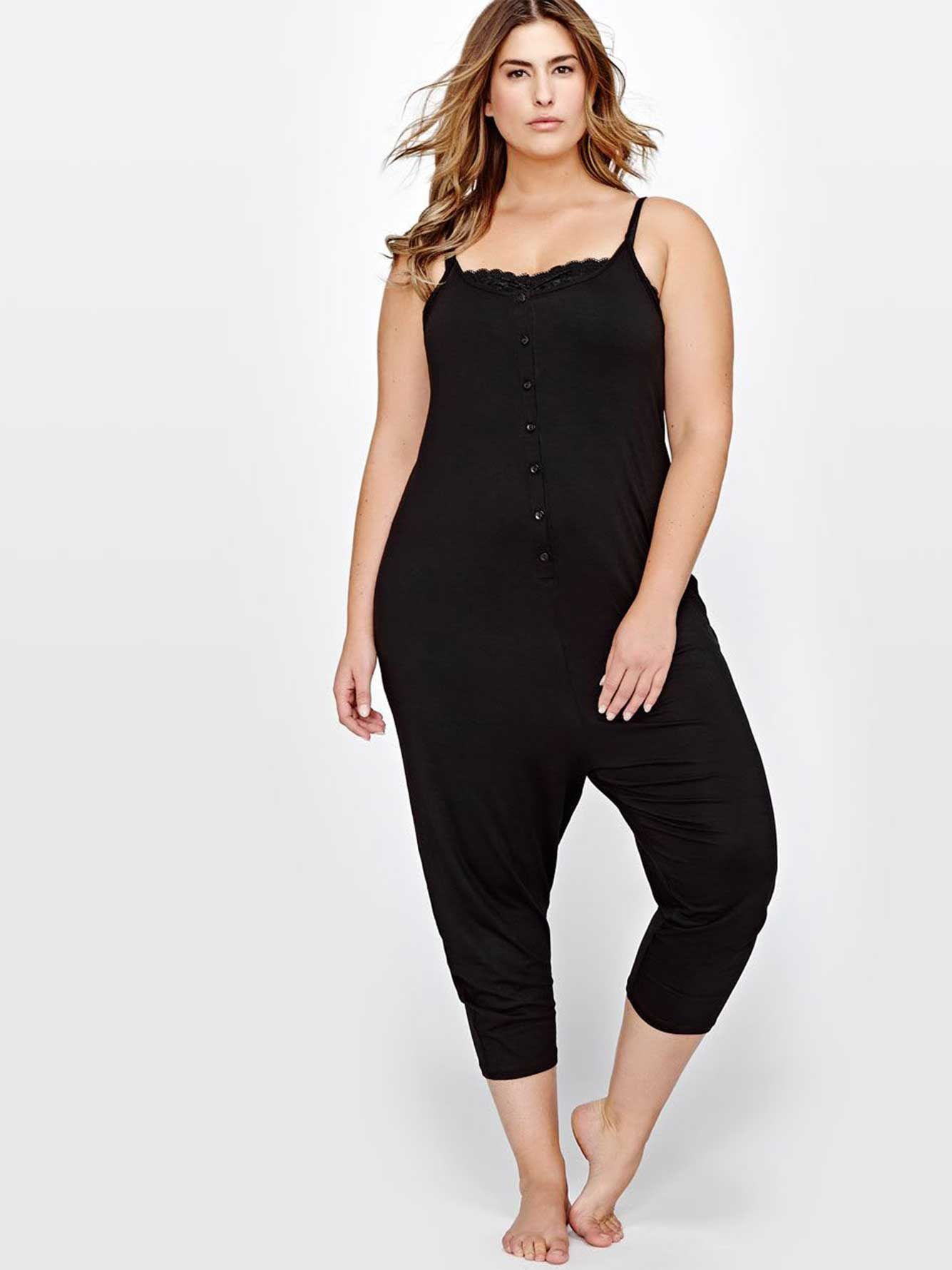 Solid Pajama Onesie - Déesse Collection