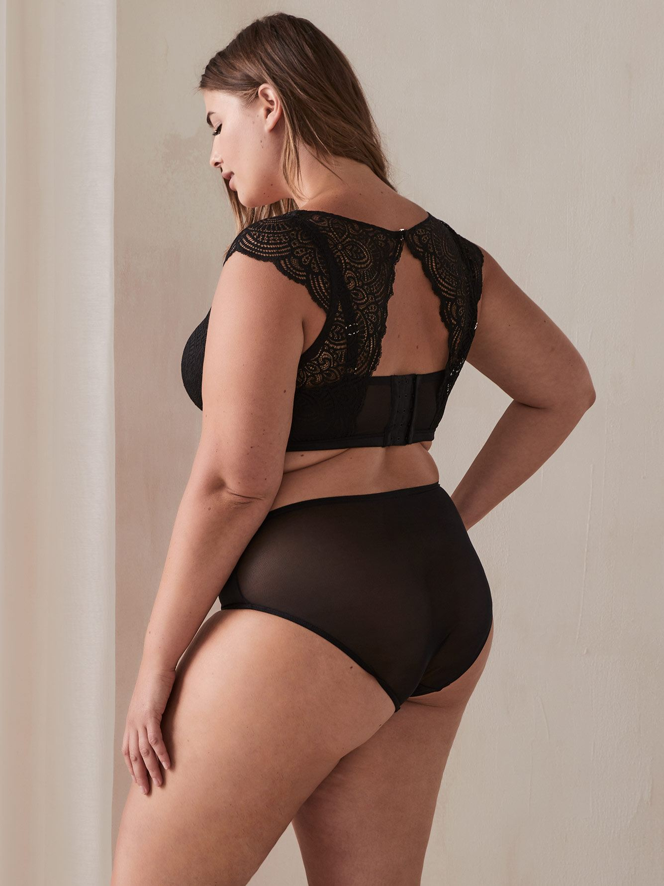 Ashley Graham - Soutien-gorge bustier Diva à demi bonnets
