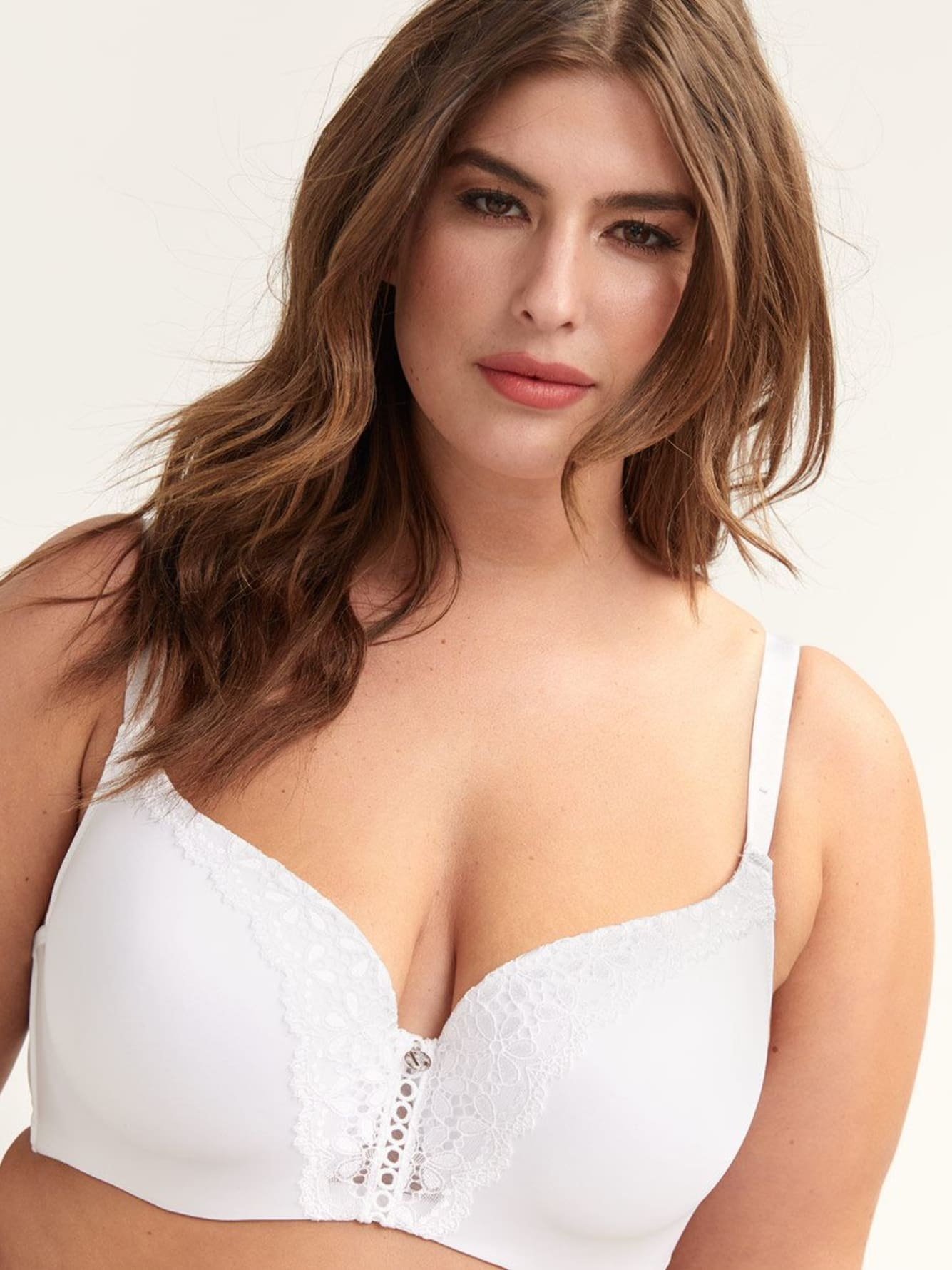 Ashley Graham Starlet Bra with Lace
