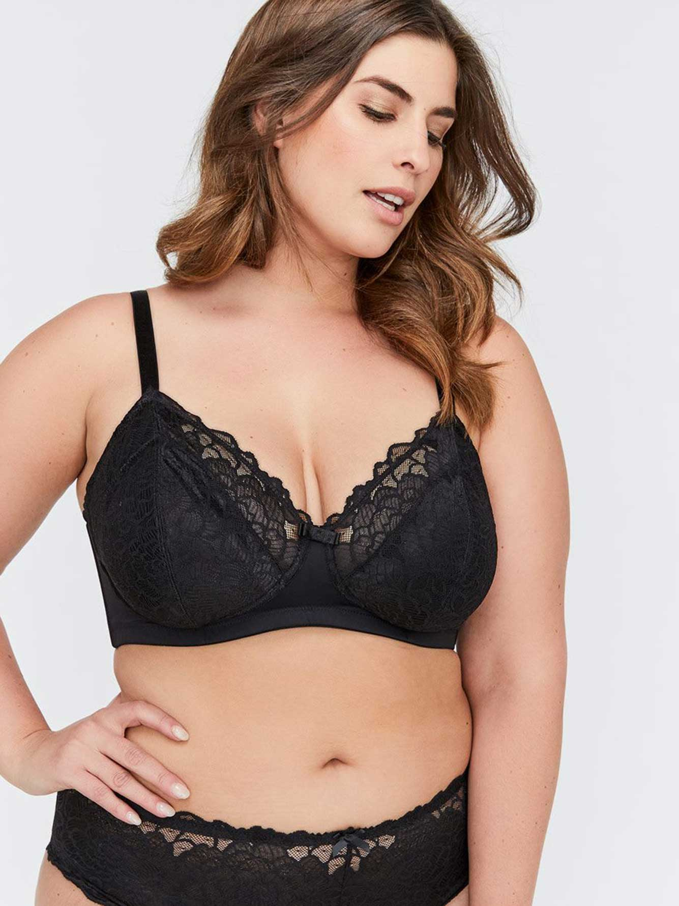 Déesse Collection - Wireless Non Padded Bra